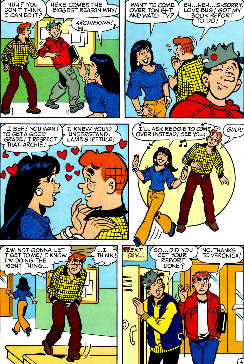 Read online Archie (1960) comic -  Issue #562 - 20