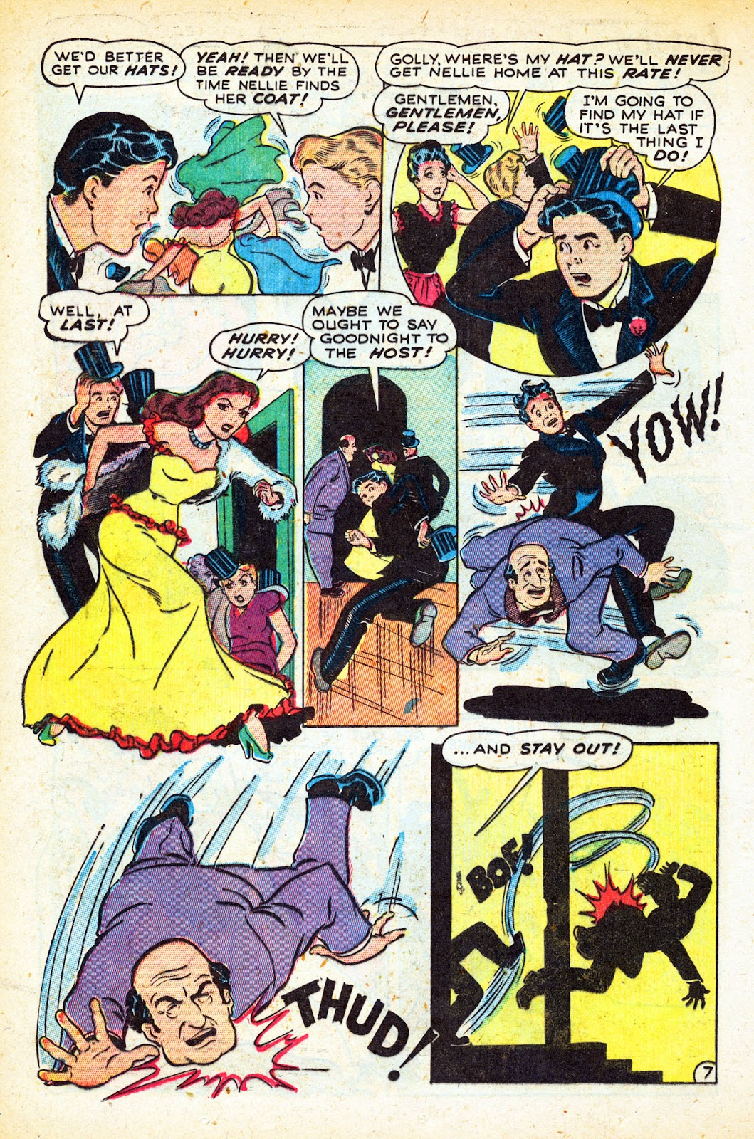 Read online Nellie The Nurse (1945) comic -  Issue #12 - 18