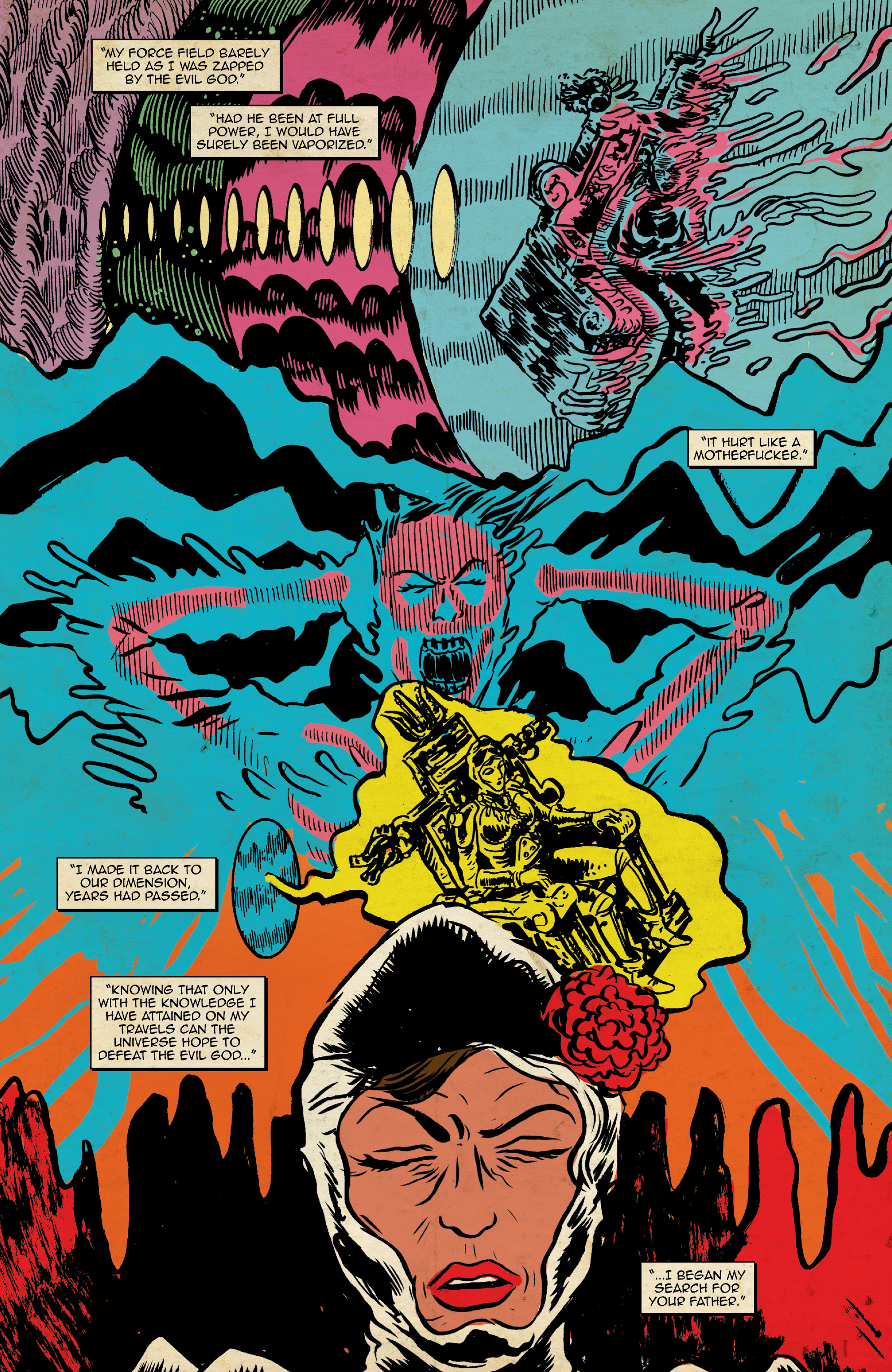 Read online Space Riders: Galaxy of Brutality comic -  Issue #2 - 14