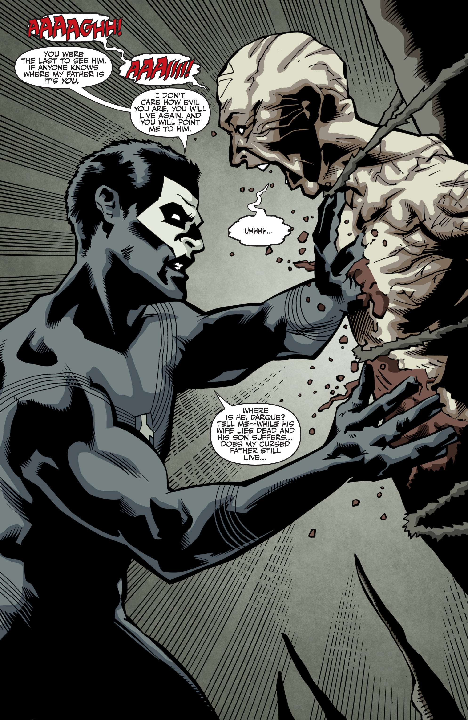 Read online Shadowman: End Times comic -  Issue #3 - 5