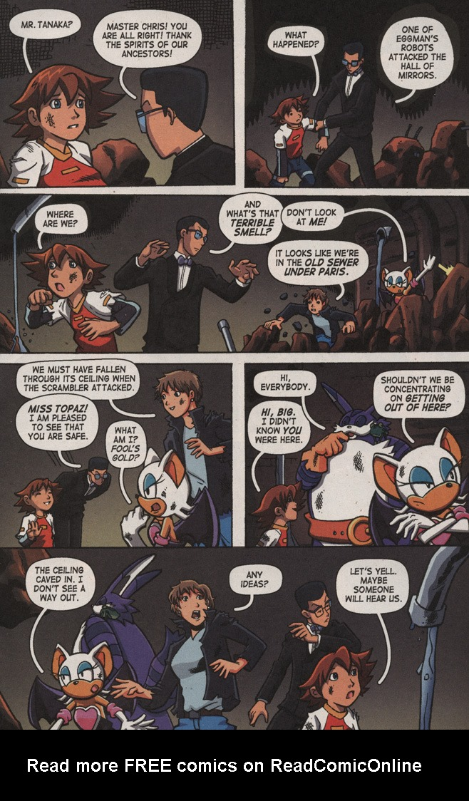 Read online Sonic X comic -  Issue #9 - 11