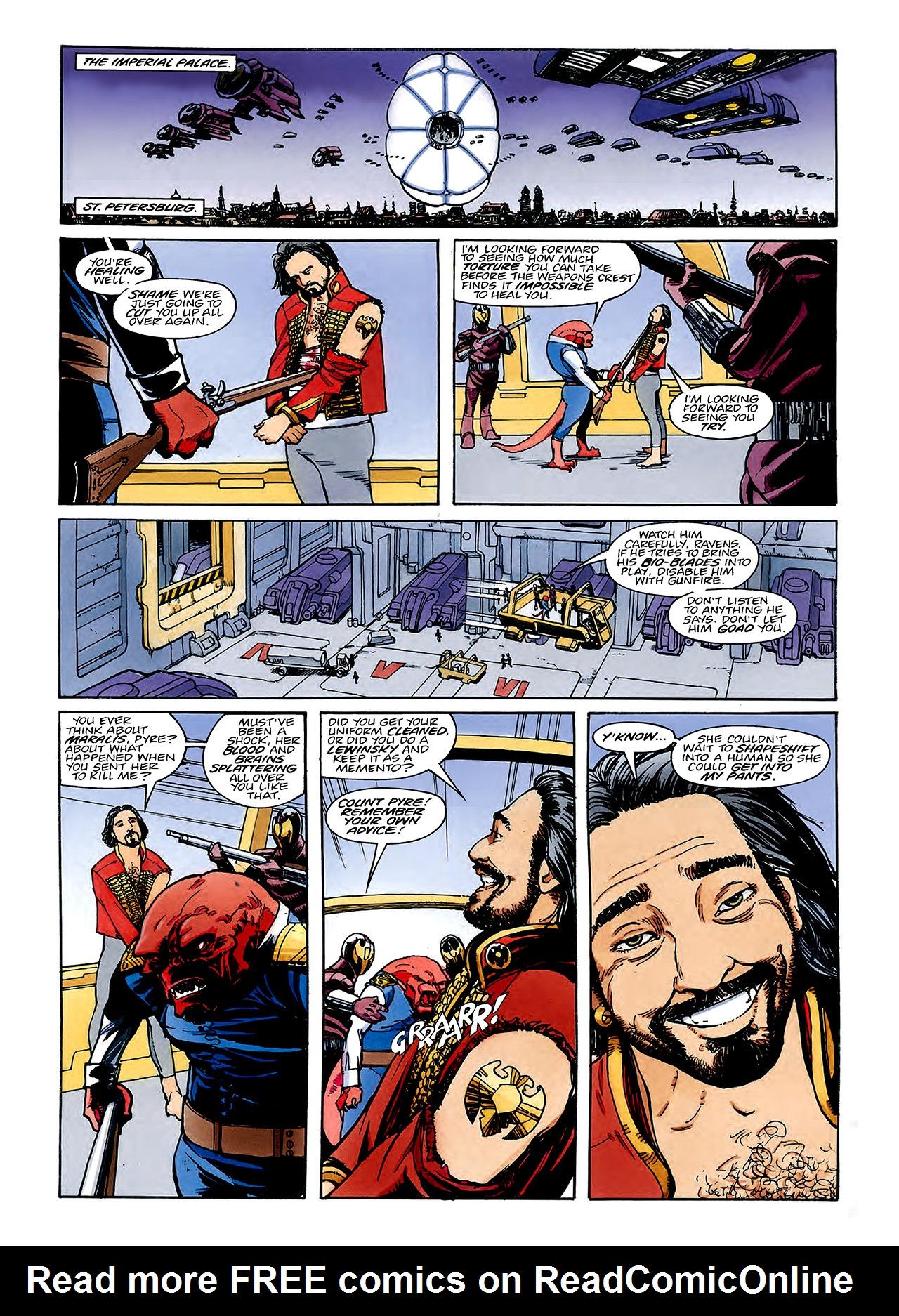 Read online Nikolai Dante comic -  Issue # TPB 3 - 90