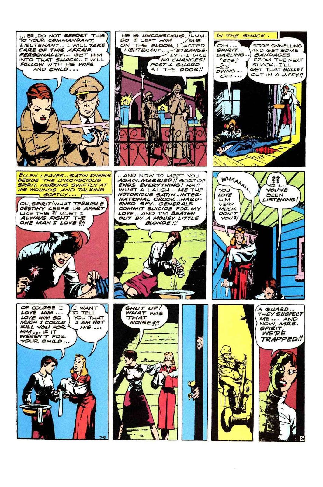 Read online Will Eisner's The Spirit Archives comic -  Issue # TPB 3 (Part 1) - 7