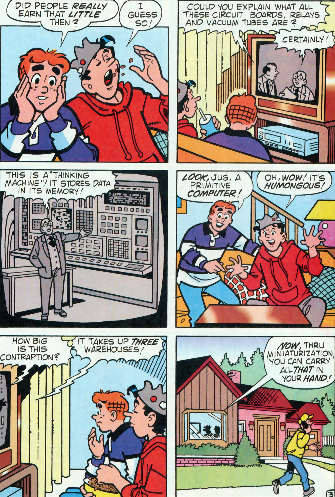 Read online Archie (1960) comic -  Issue #455 - 15