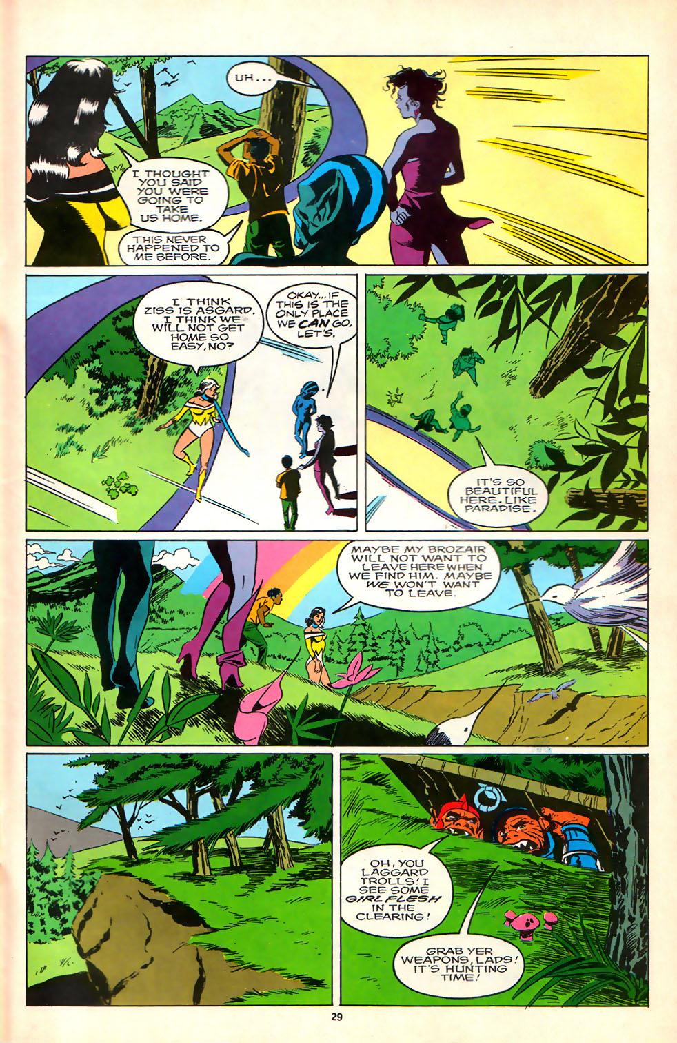 Read online Alpha Flight (1983) comic -  Issue #81 - 23