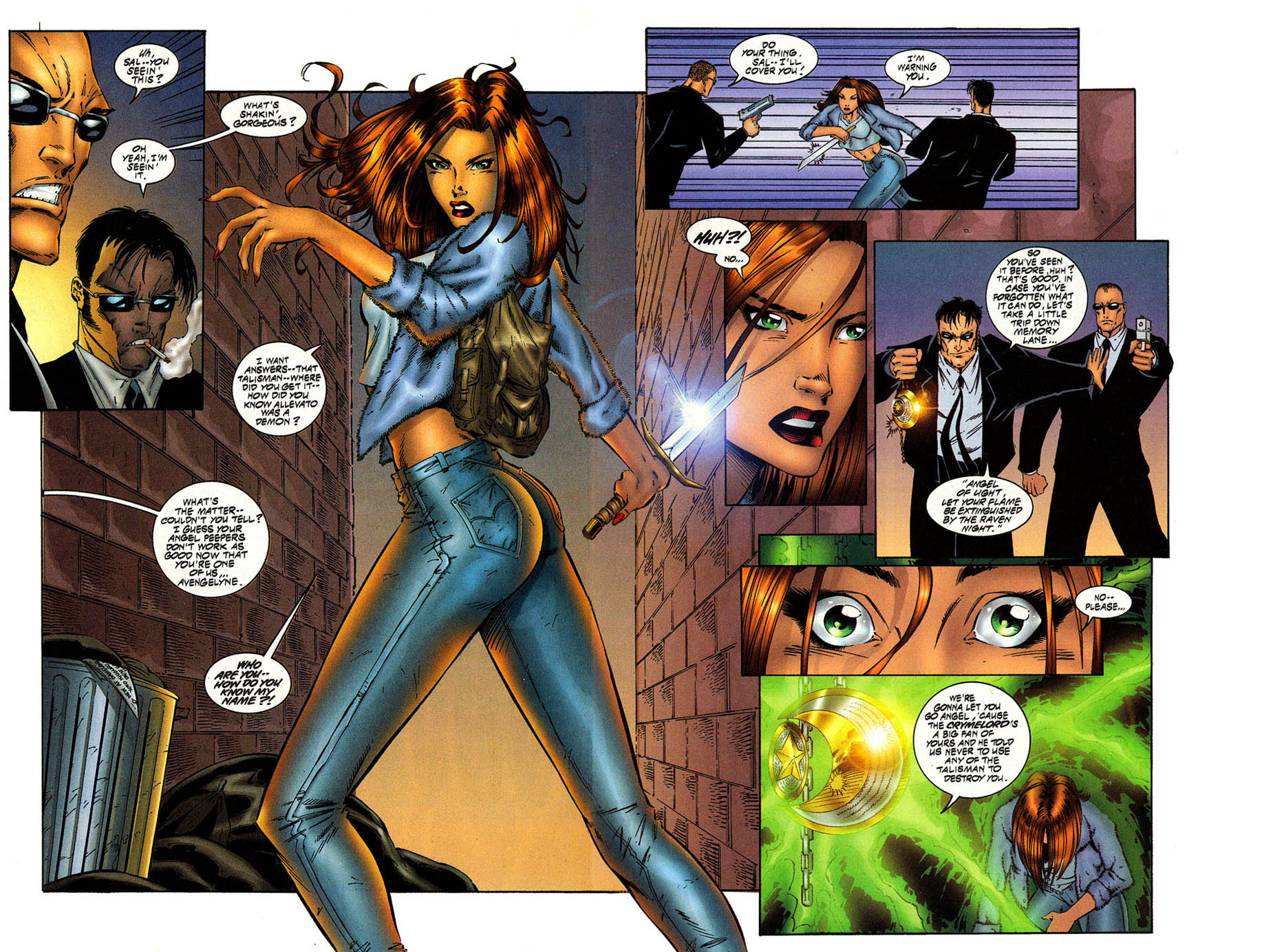 Read online Avengelyne (1996) comic -  Issue #8 - 7