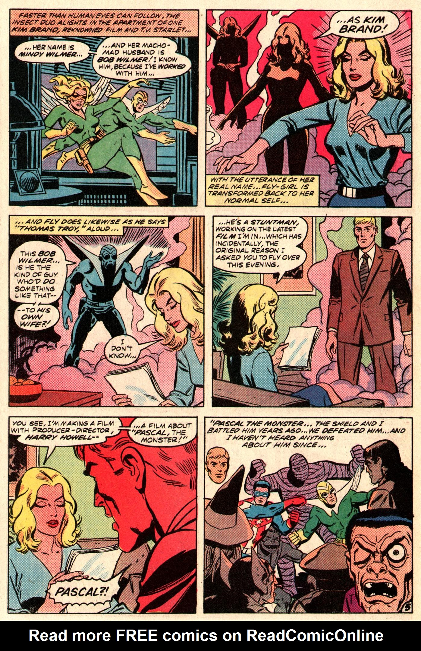 Read online The Fly (1983) comic -  Issue #3 - 6