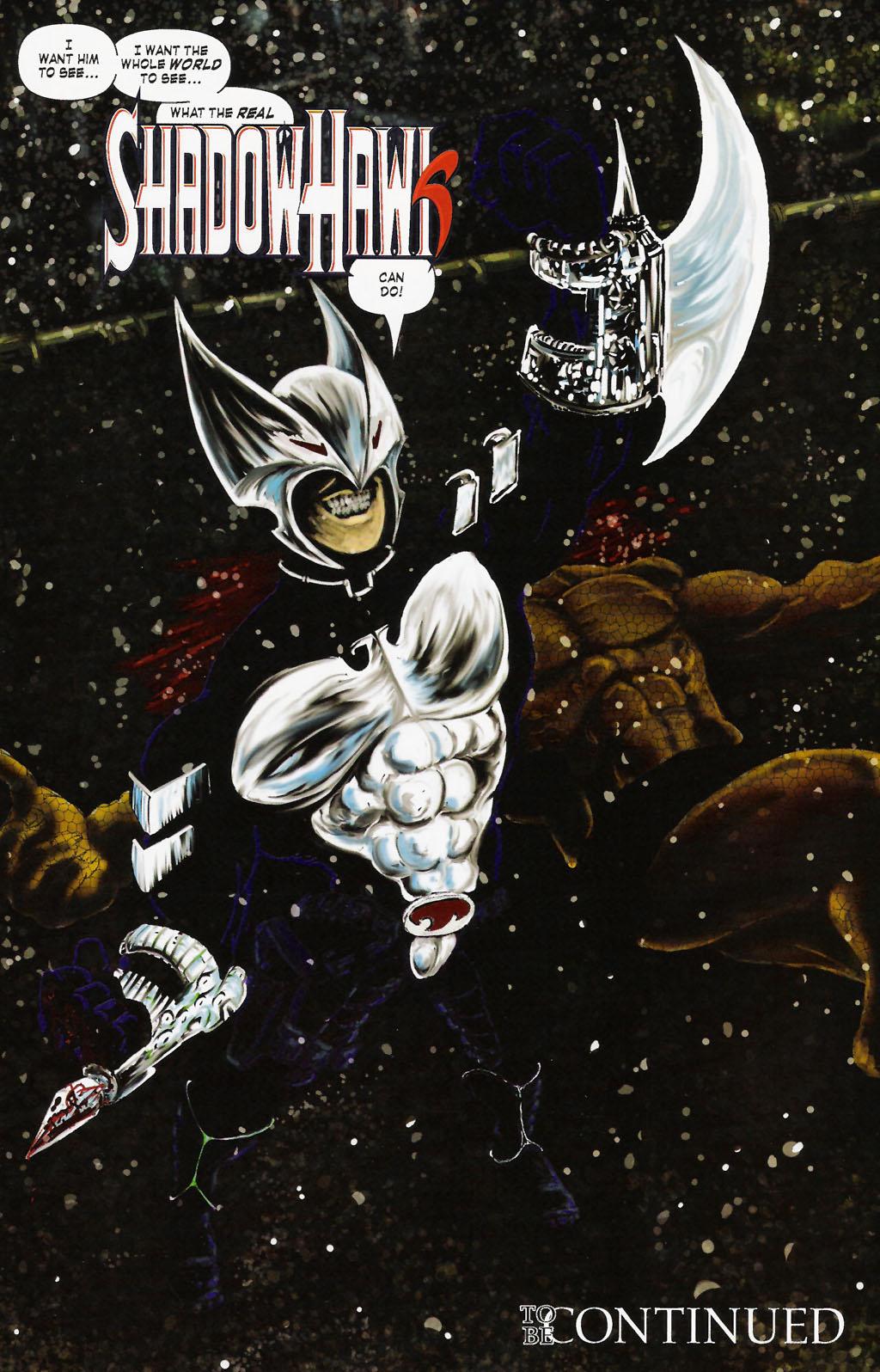 Read online ShadowHawk (2005) comic -  Issue #9 - 24