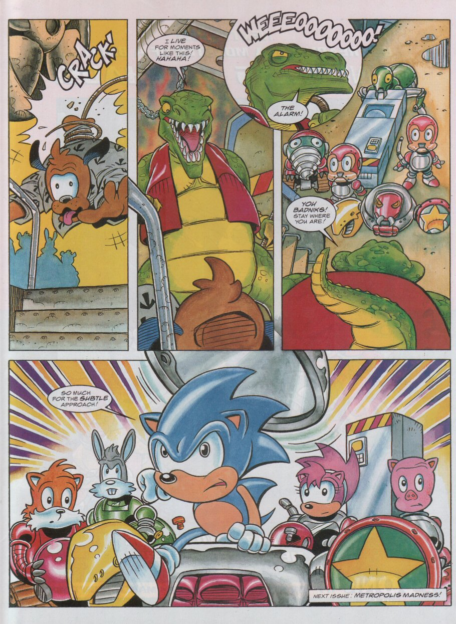 Read online Sonic the Comic comic -  Issue #55 - 9