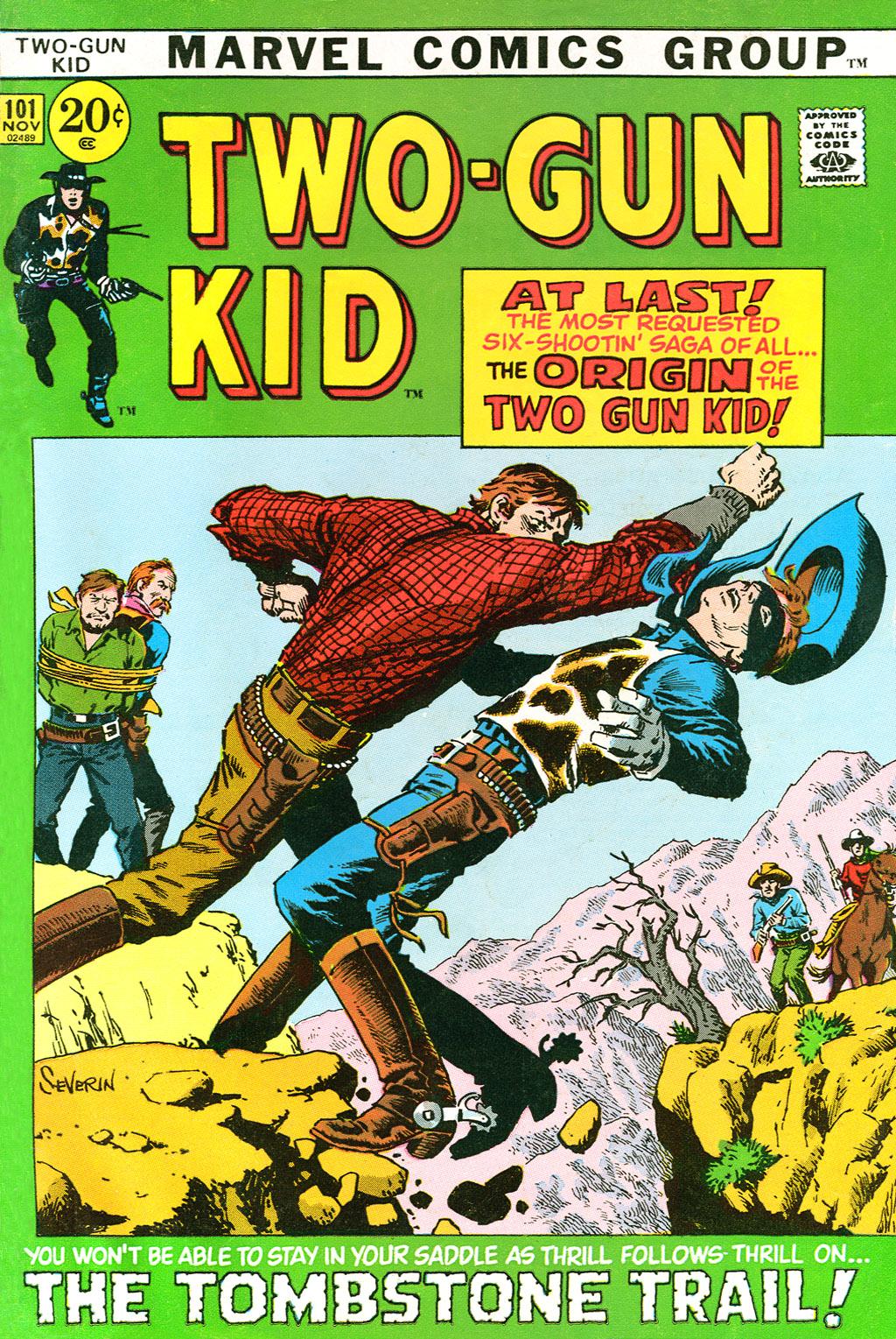Read online Two-Gun Kid comic -  Issue #101 - 1