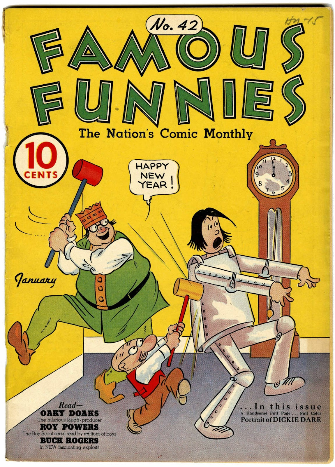Read online Famous Funnies comic -  Issue #42 - 1