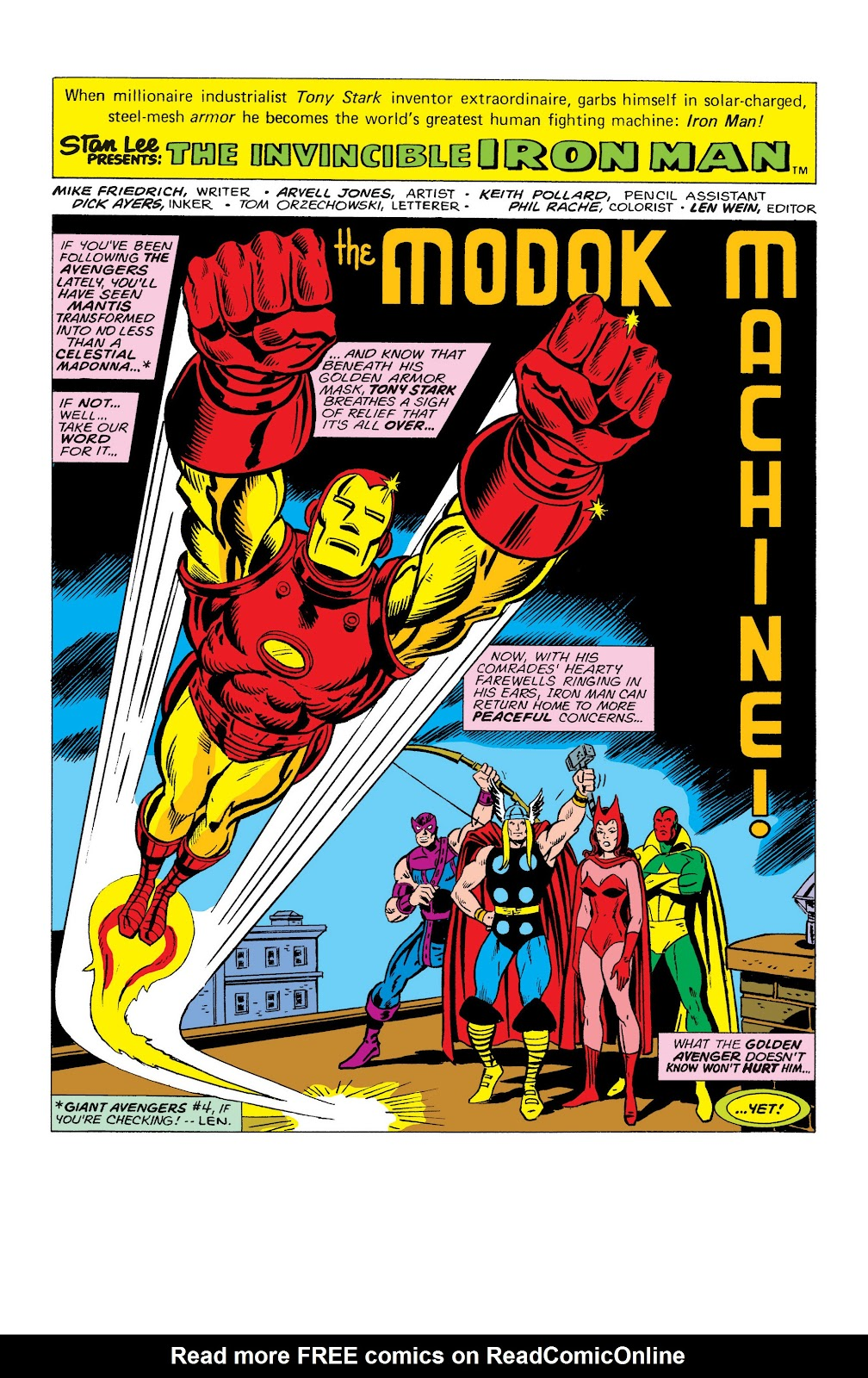Read online Marvel Masterworks: The Invincible Iron Man comic -  Issue # TPB 10 (Part 2) - 18