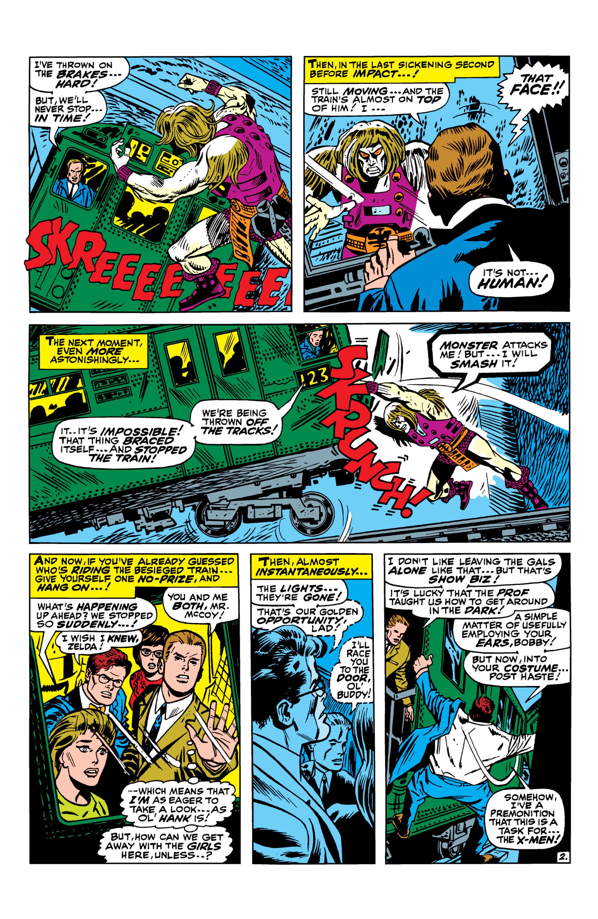 Read online Uncanny X-Men (1963) comic -  Issue #41 - 3