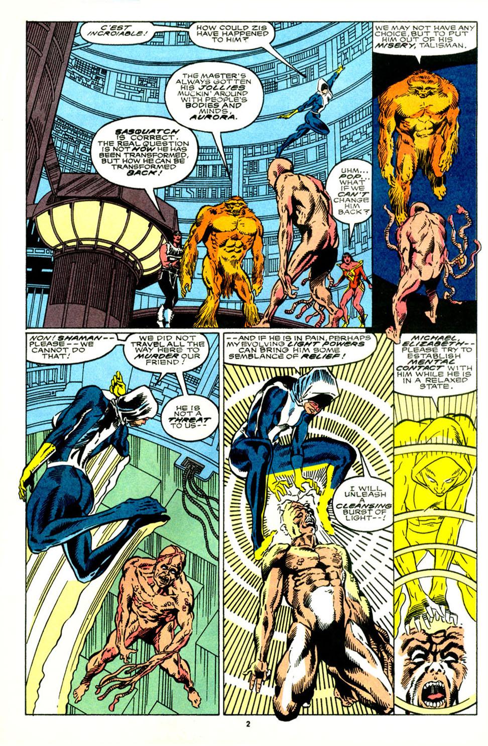 Read online Alpha Flight (1983) comic -  Issue #89 - 4