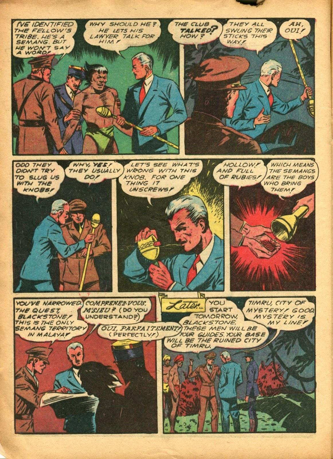 Read online Super-Magician Comics comic -  Issue #5 - 12