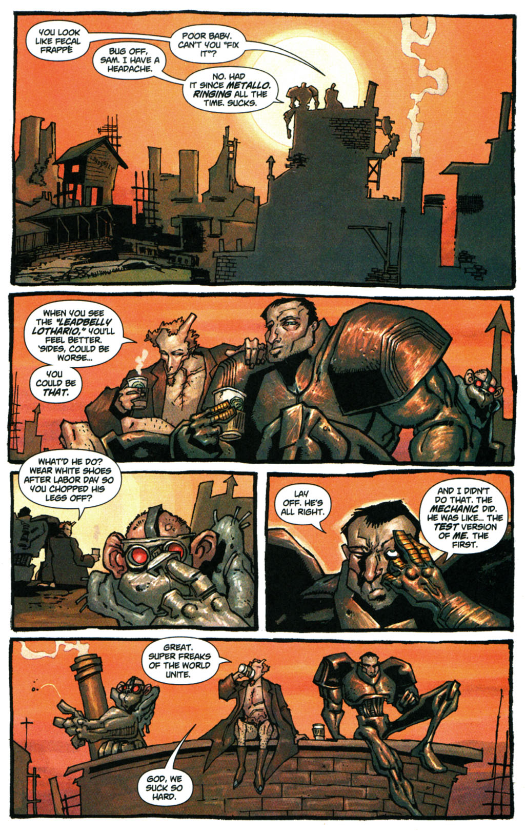 Read online Enginehead comic -  Issue #5 - 8