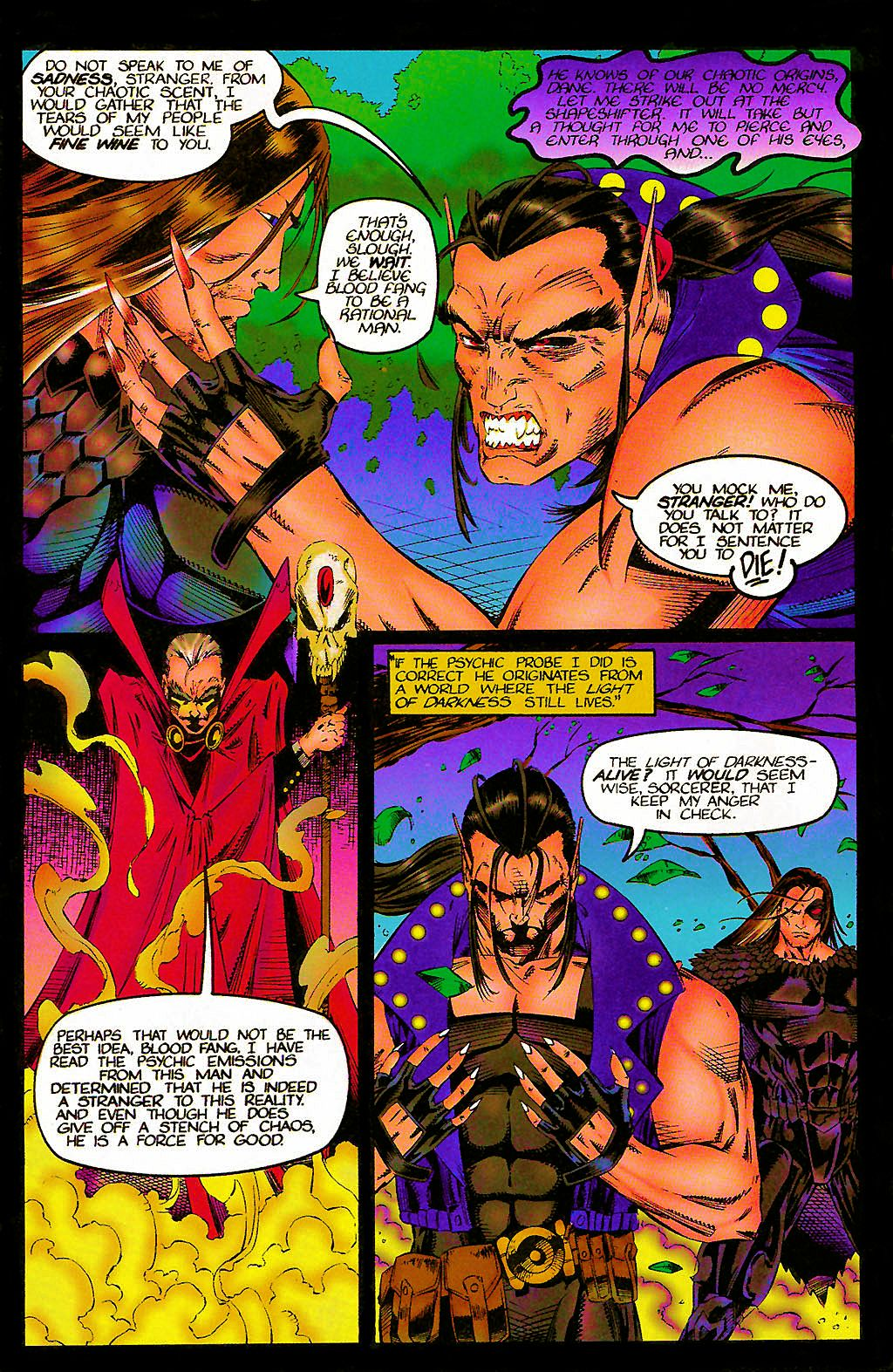 Read online Chains of Chaos comic -  Issue #1 - 21