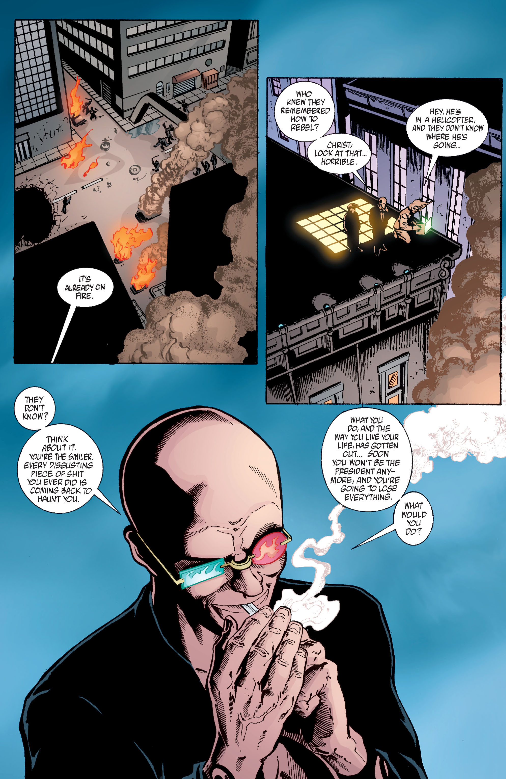 Read online Transmetropolitan comic -  Issue #58 - 21