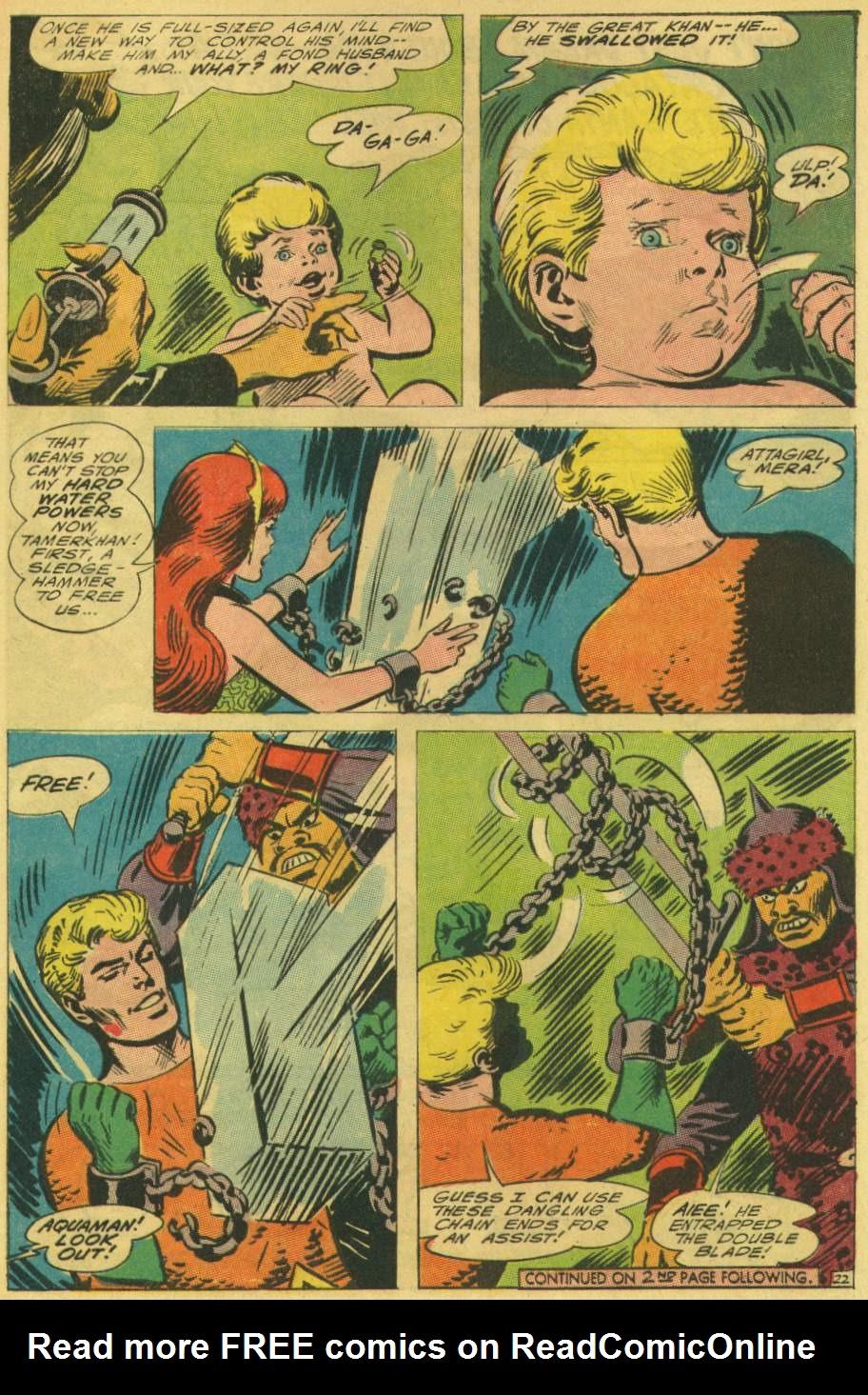 Read online Aquaman (1962) comic -  Issue #25 - 29