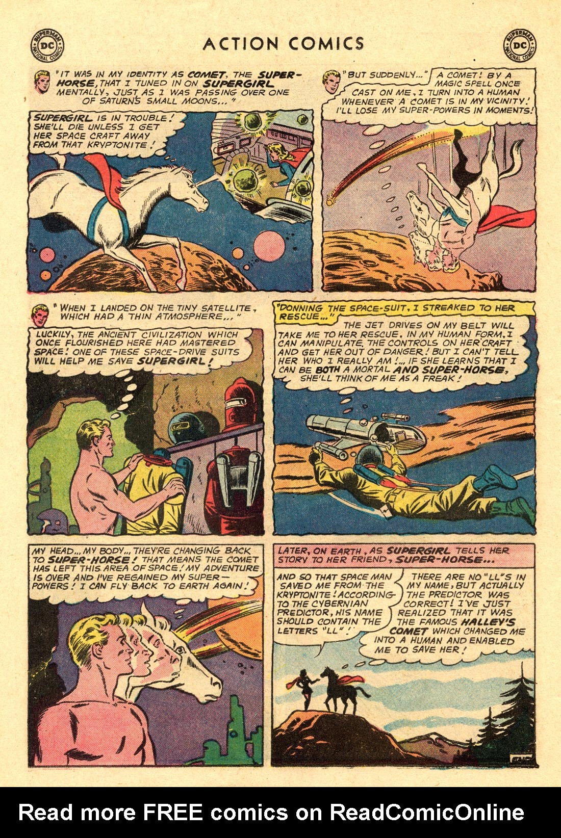 Read online Action Comics (1938) comic -  Issue #312 - 32