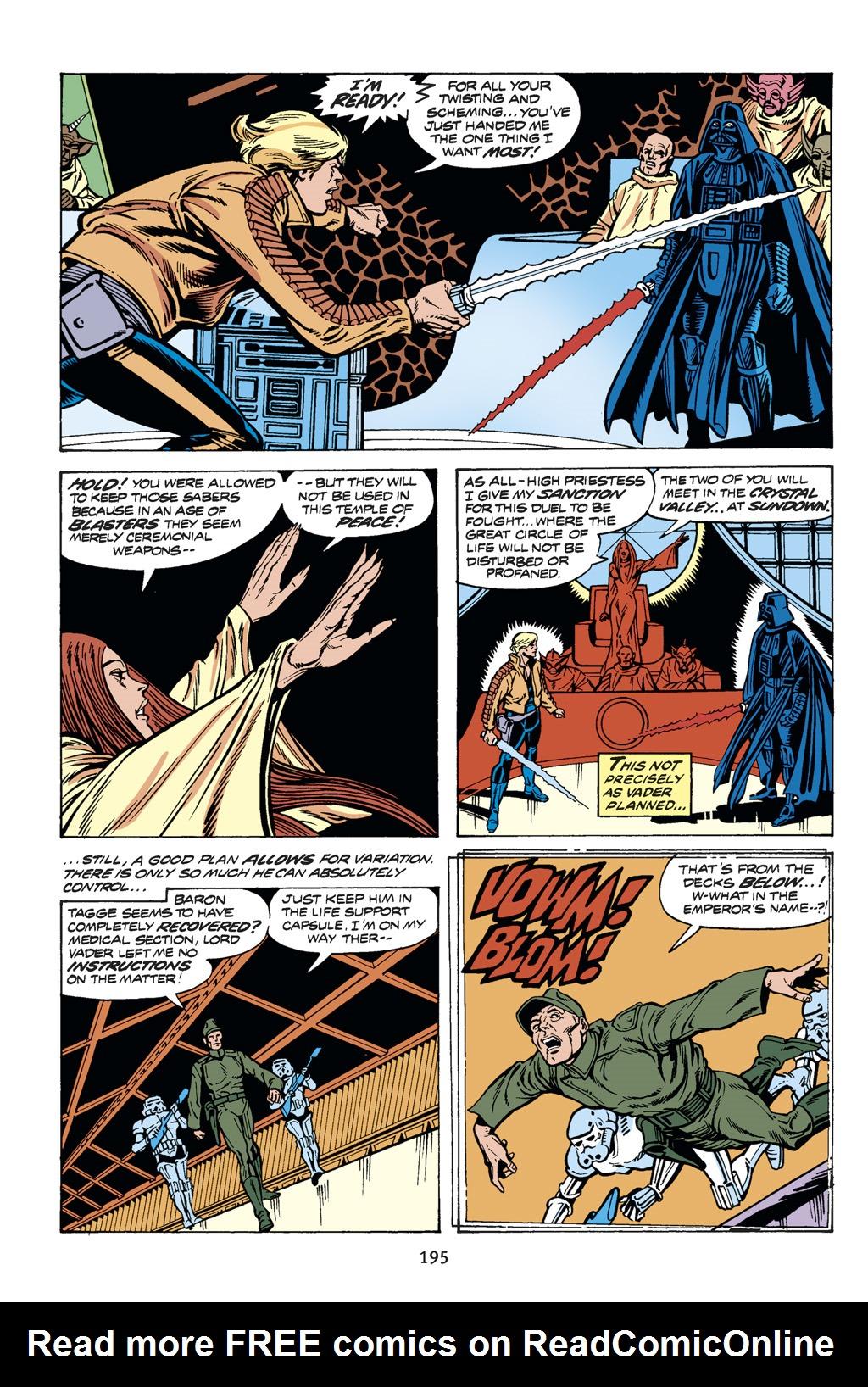Read online Star Wars Omnibus comic -  Issue # Vol. 14 - 194