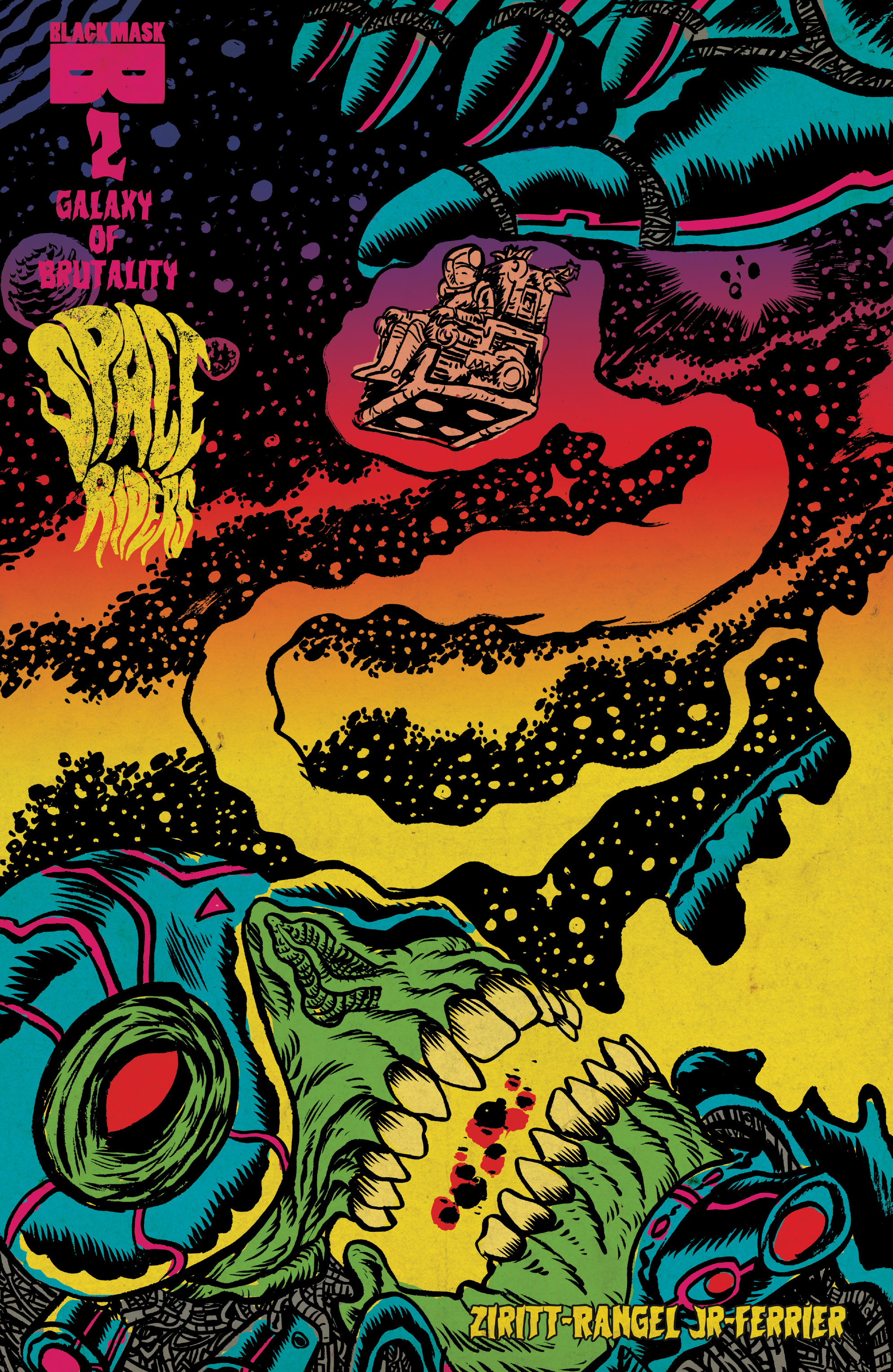 Read online Space Riders: Galaxy of Brutality comic -  Issue #2 - 1
