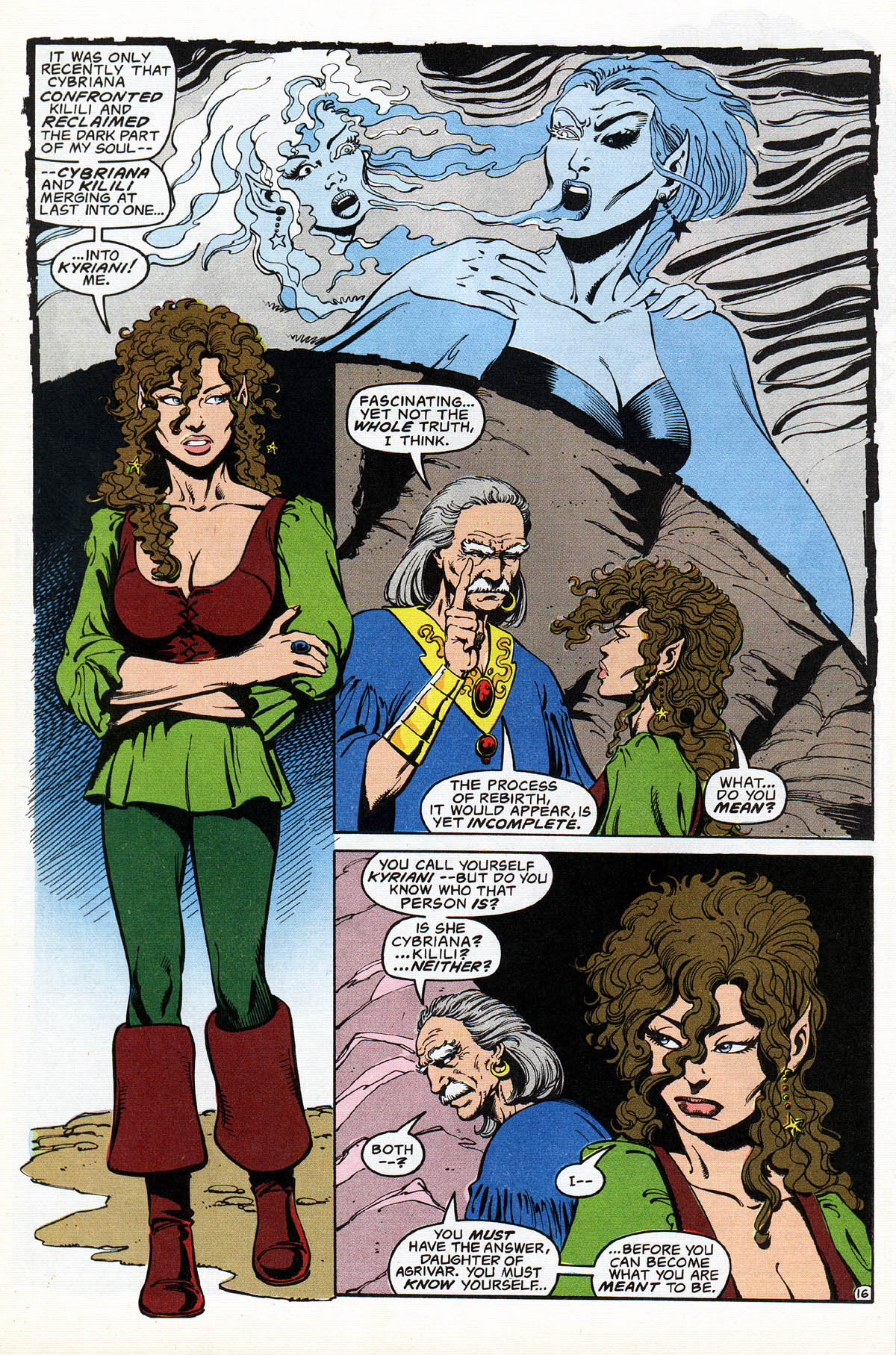 Read online Advanced Dungeons & Dragons comic -  Issue #17 - 19