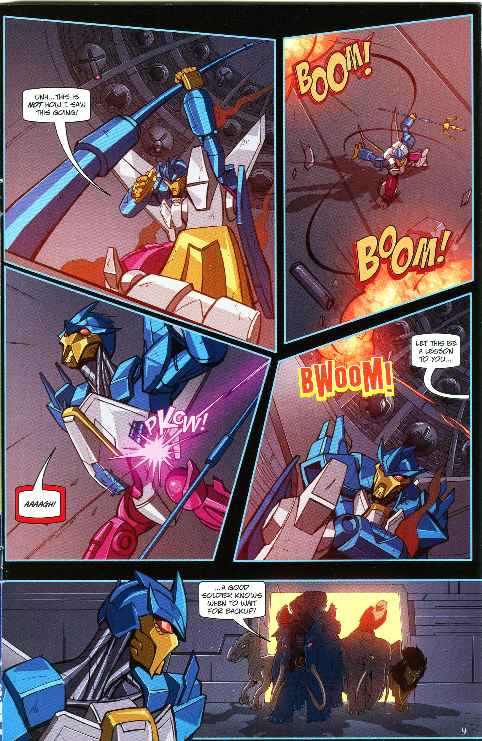 Read online Transformers: Collectors' Club comic -  Issue #53 - 9