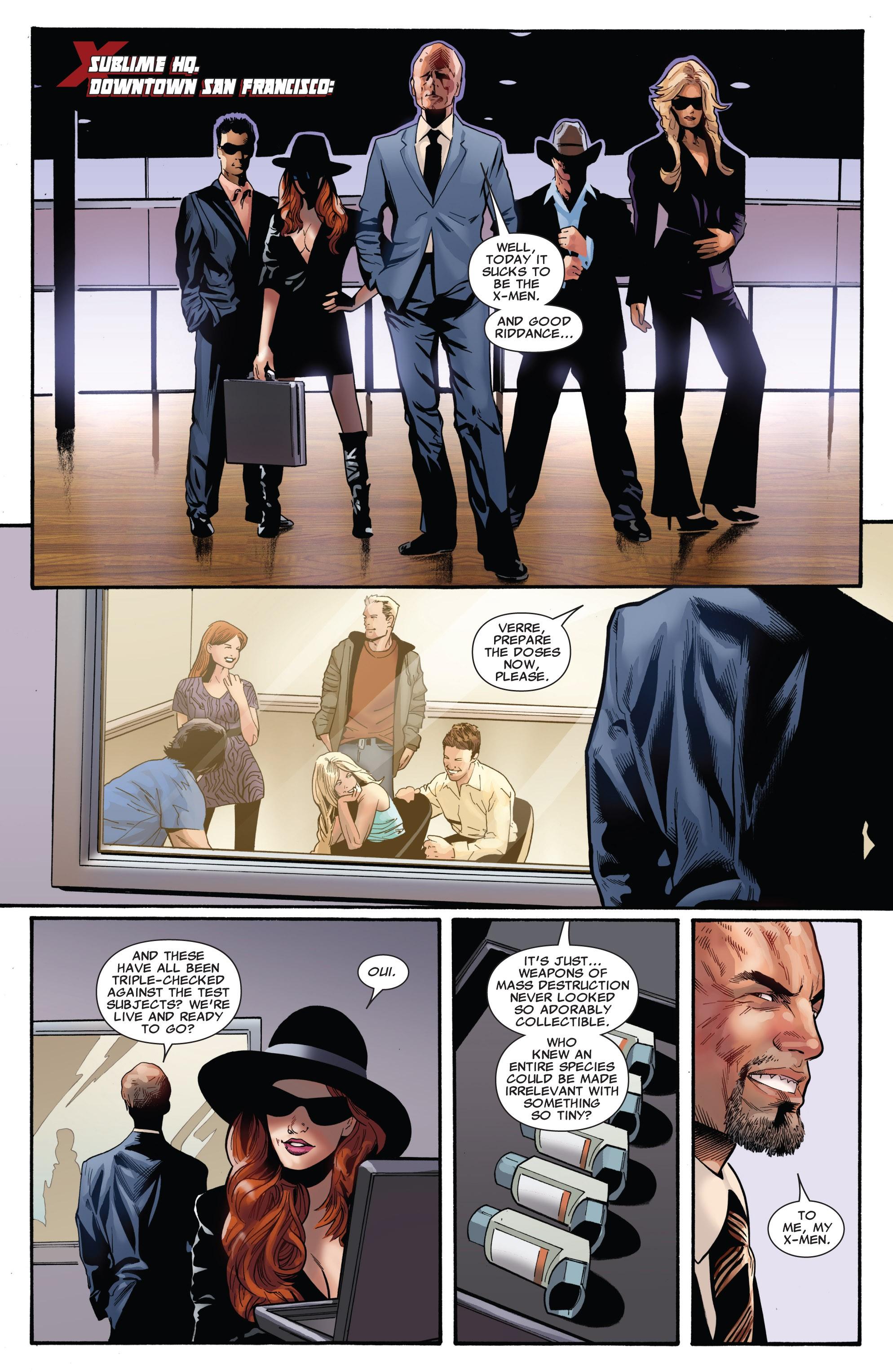 Read online Uncanny X-Men (1963) comic -  Issue #530 - 15