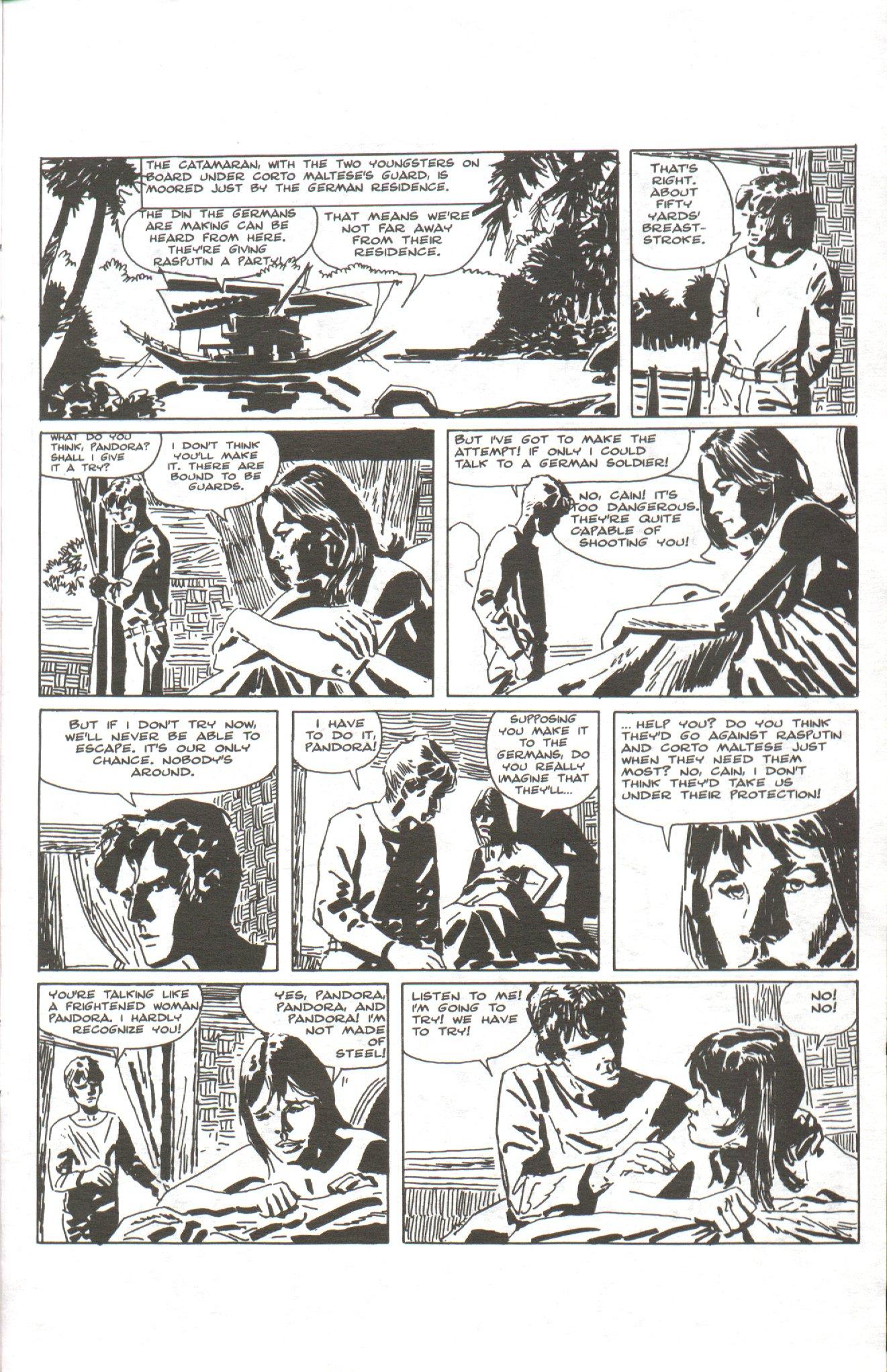 Read online Corto Maltese: Ballad of the Salt Sea comic -  Issue #1 - 23
