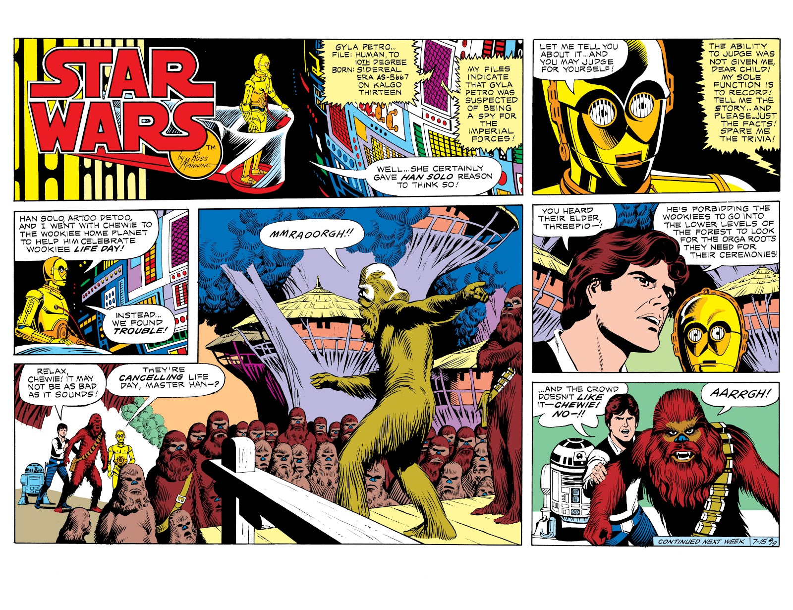 Read online Star Wars Legends: The Newspaper Strips - Epic Collection comic -  Issue # TPB (Part 1) - 26