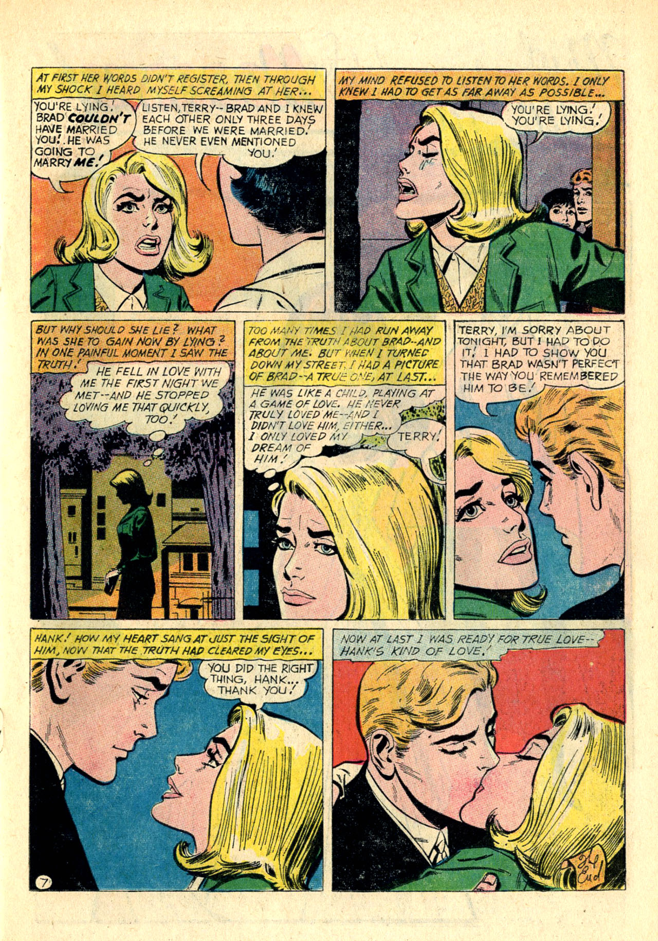 Read online Secret Hearts comic -  Issue #118 - 15