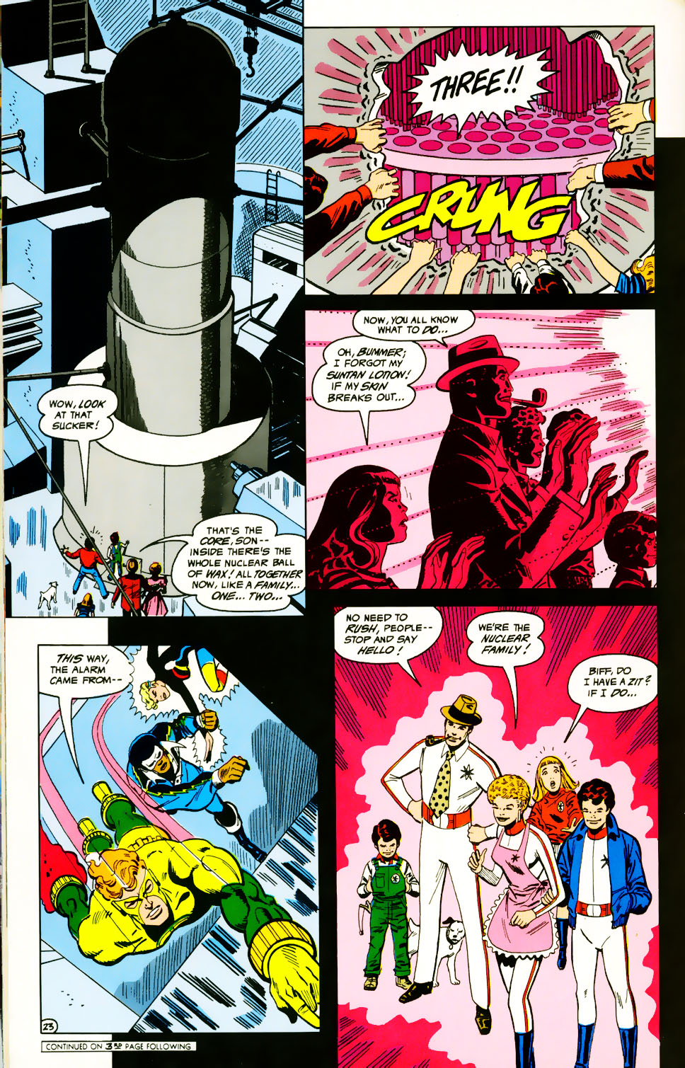 Read online Adventures of the Outsiders comic -  Issue #39 - 24