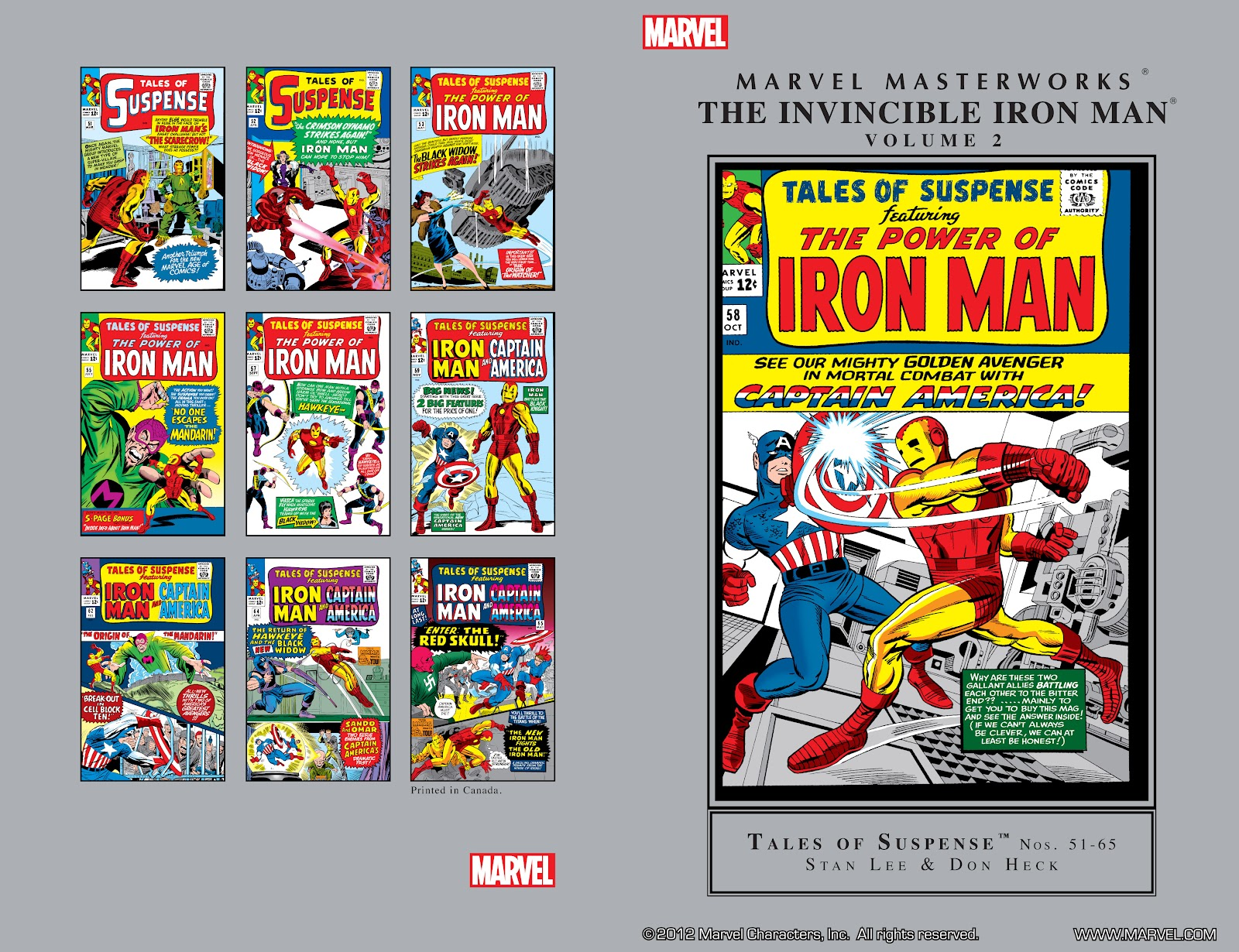 Read online Marvel Masterworks: The Invincible Iron Man comic -  Issue # TPB 2 (Part 1) - 2