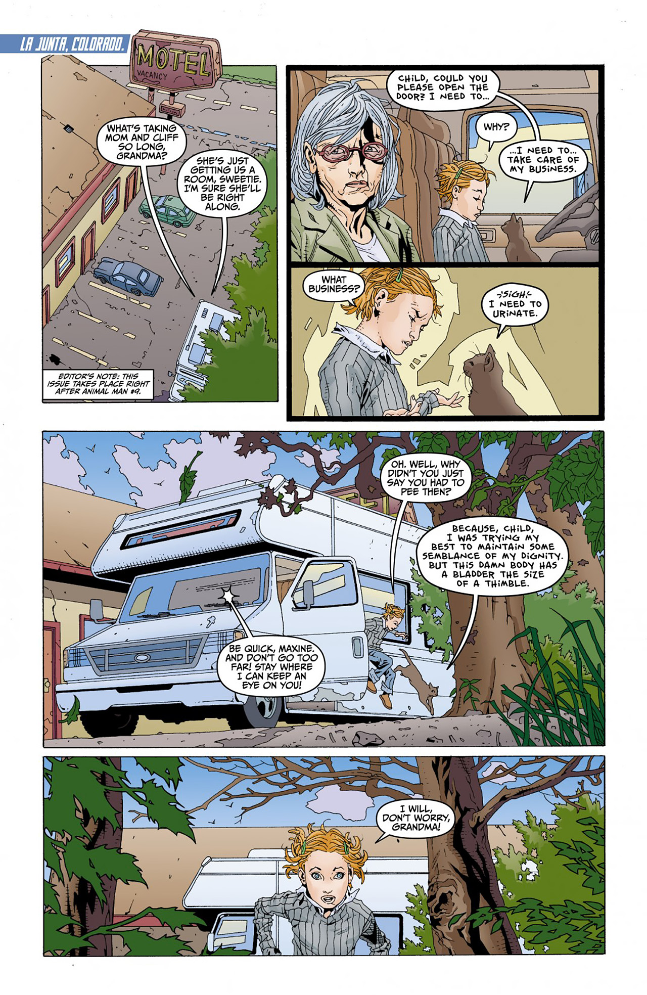Read online Animal Man (2011) comic -  Issue #Animal Man (2011) _Annual 1 - 2