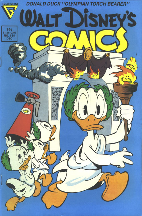 Walt Disney's Comics and Stories issue 535 - Page 1