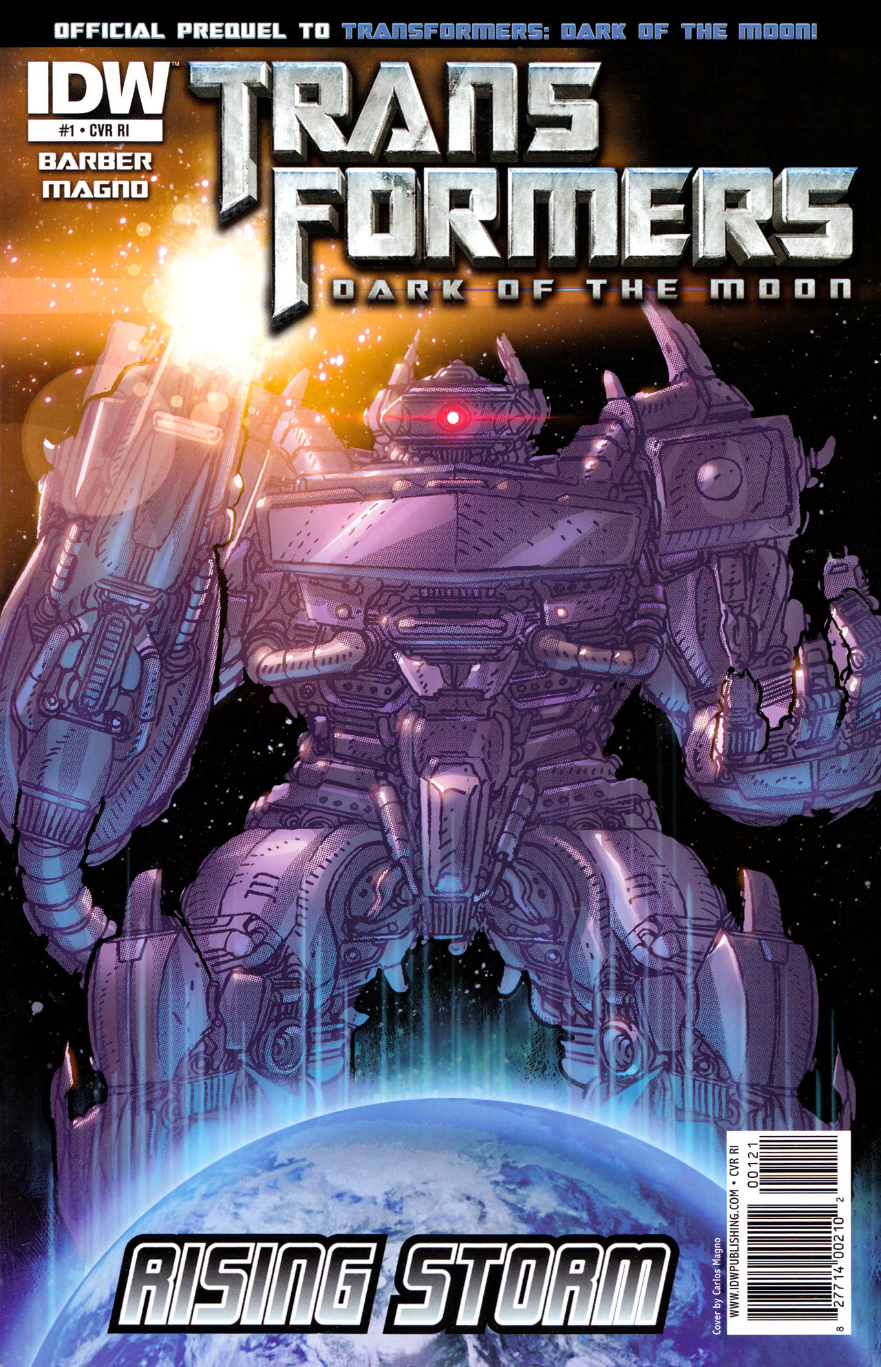 Read online Transformers: Dark of the Moon Rising Storm comic -  Issue #1 - 2