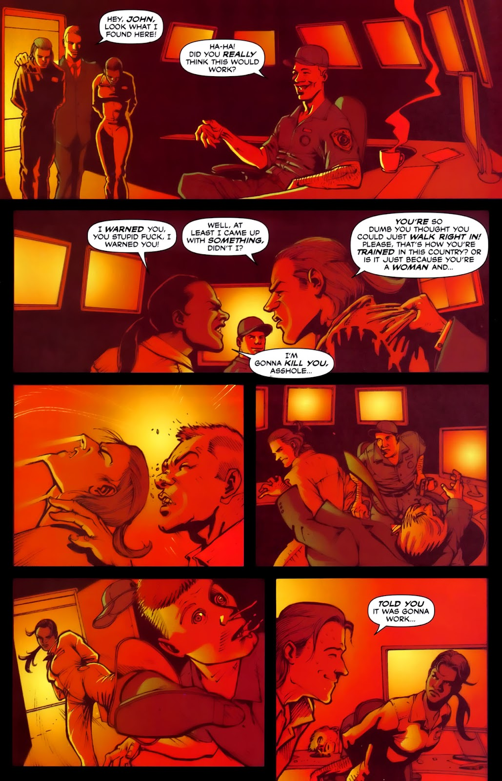 Read online Lazarus (2007) comic -  Issue #2 - 20