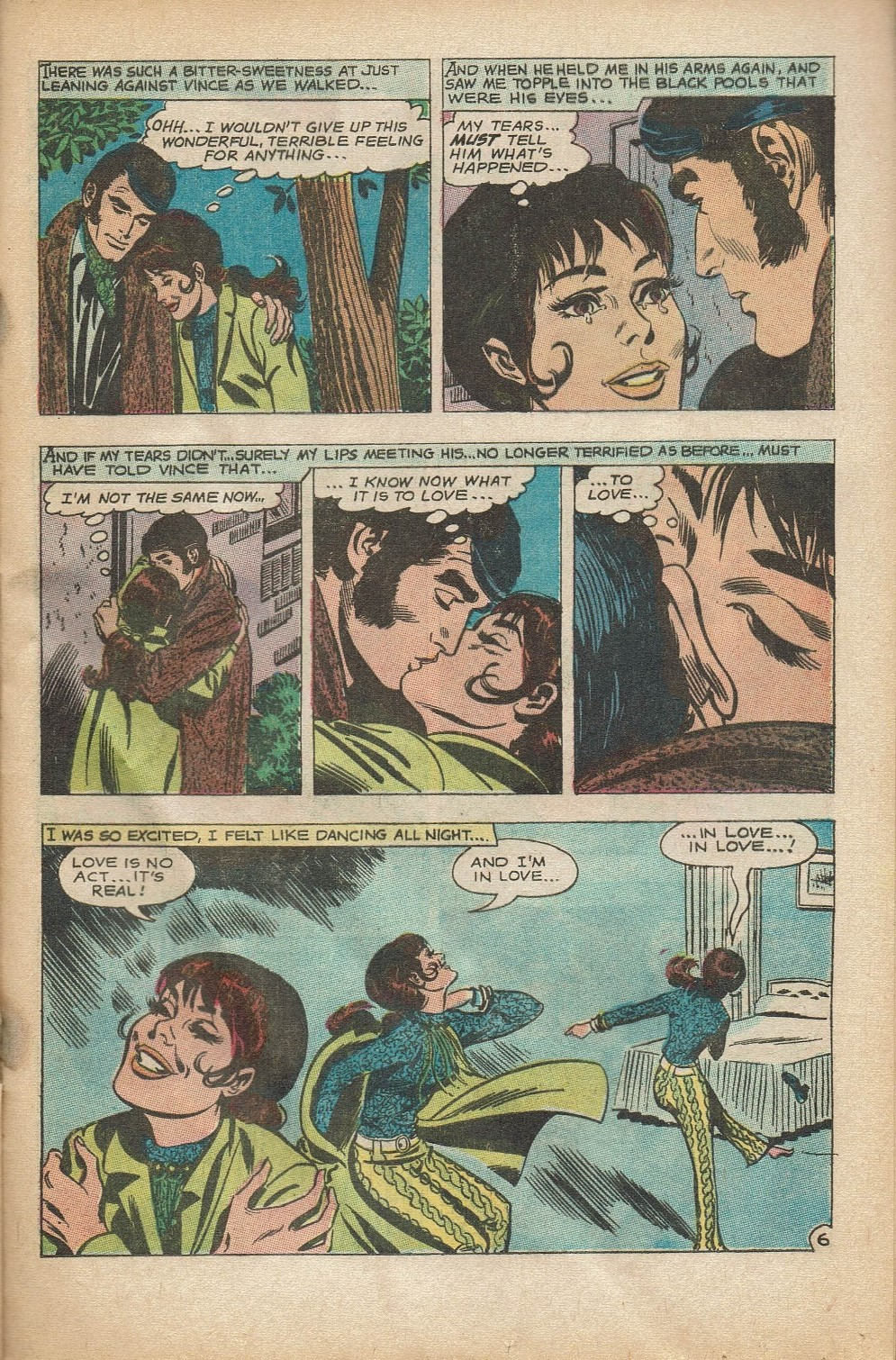 Read online Secret Hearts comic -  Issue #152 - 21