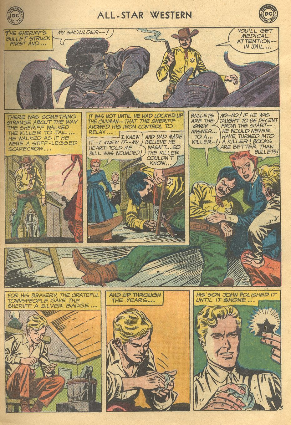 Read online All-Star Western (1951) comic -  Issue #108 - 5