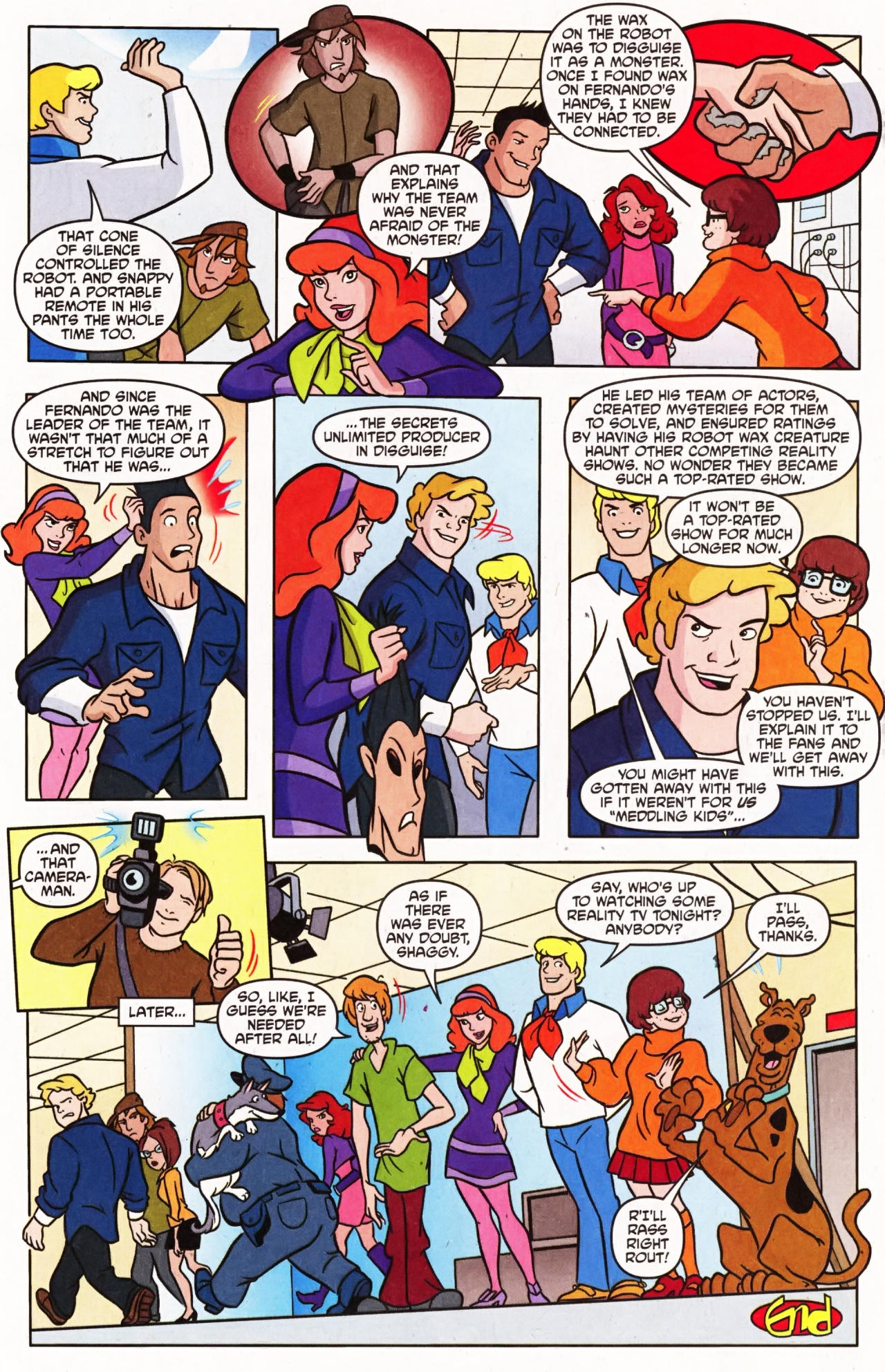Read online Scooby-Doo (1997) comic -  Issue #133 - 19