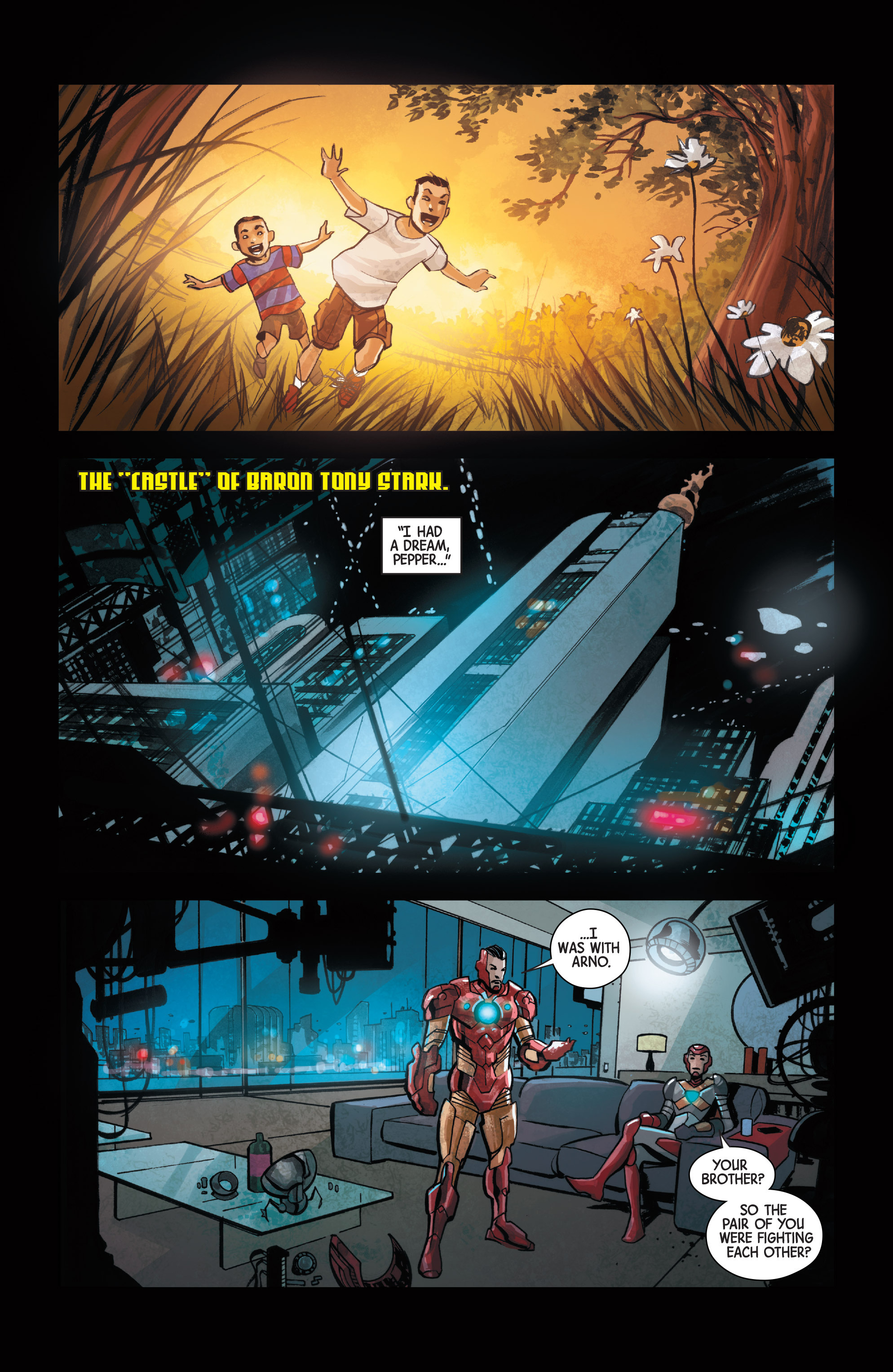 Read online Armor Wars comic -  Issue #1 - 11