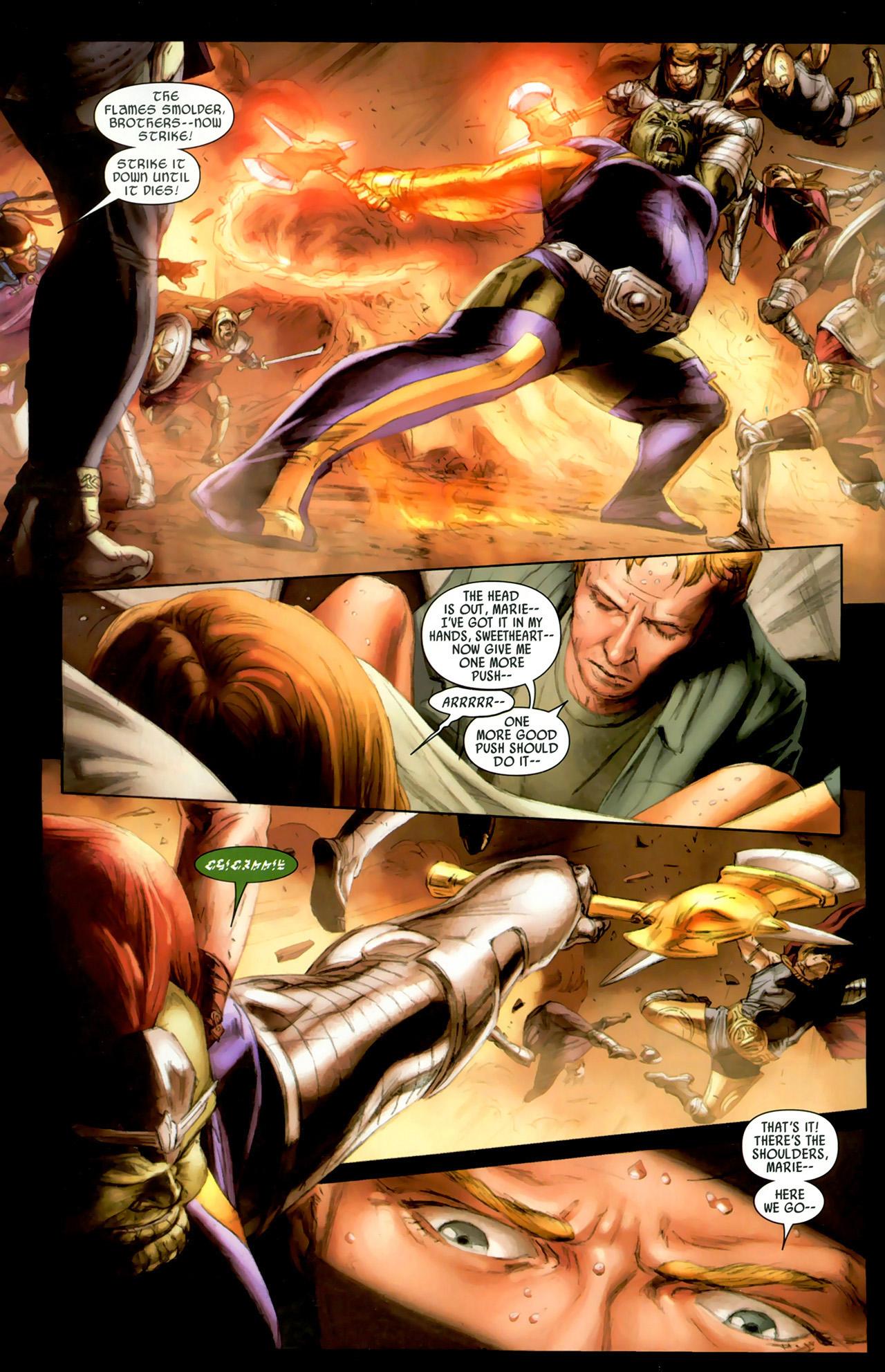 Read online Secret Invasion: Thor comic -  Issue #2 - 17