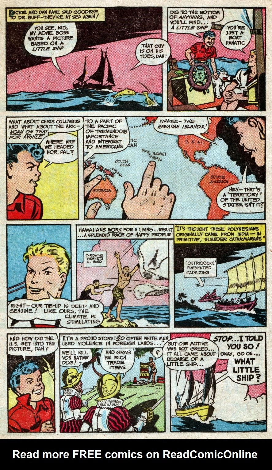 Read online Famous Funnies comic -  Issue #216 - 19