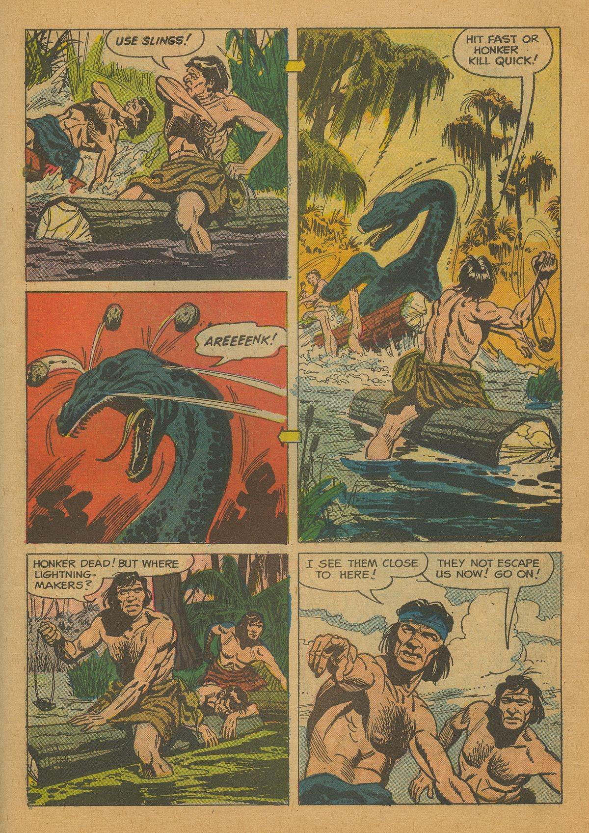 Read online Turok, Son of Stone comic -  Issue #26 - 30