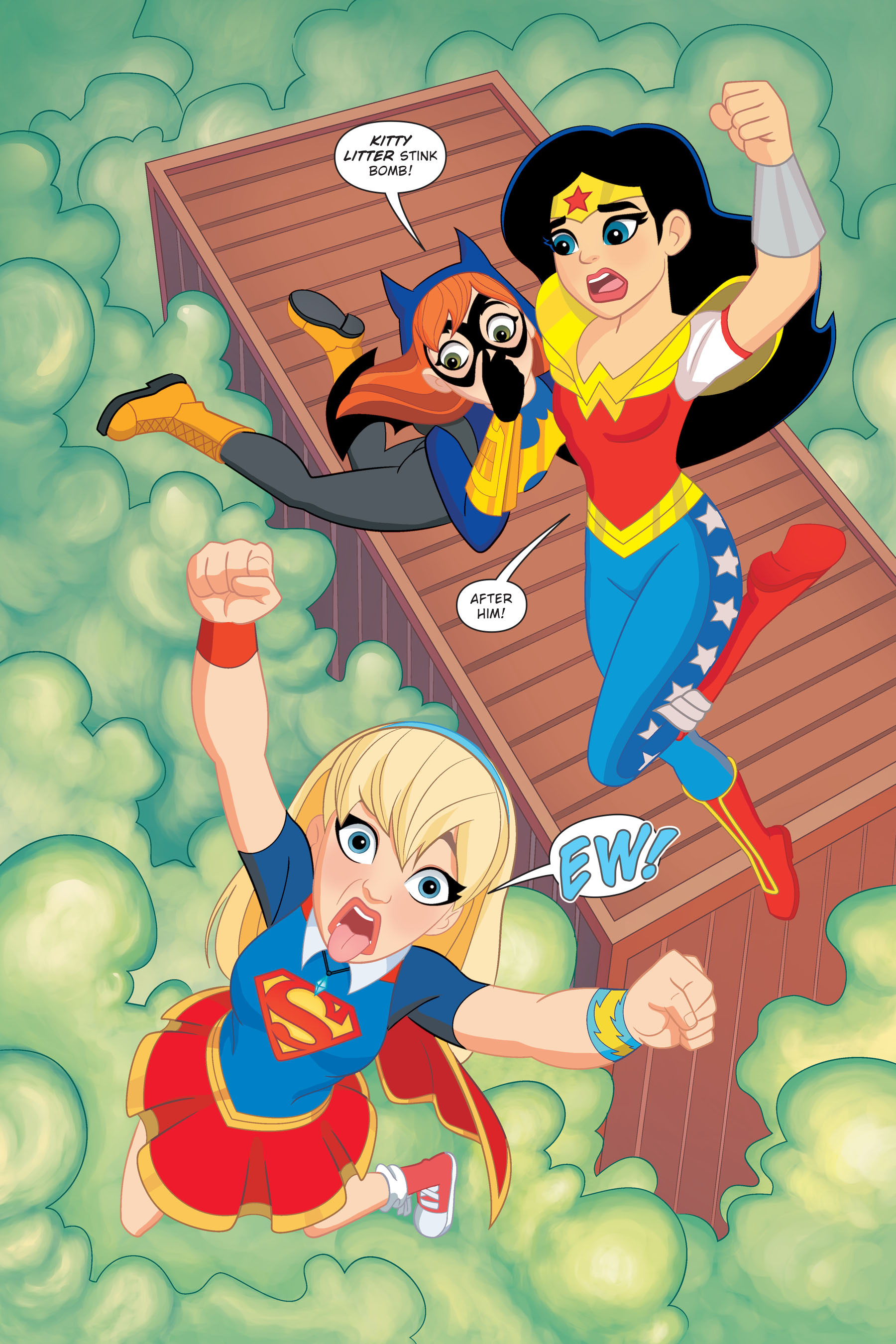 Read online DC Super Hero Girls: Hits and Myths comic -  Issue # Full - 8