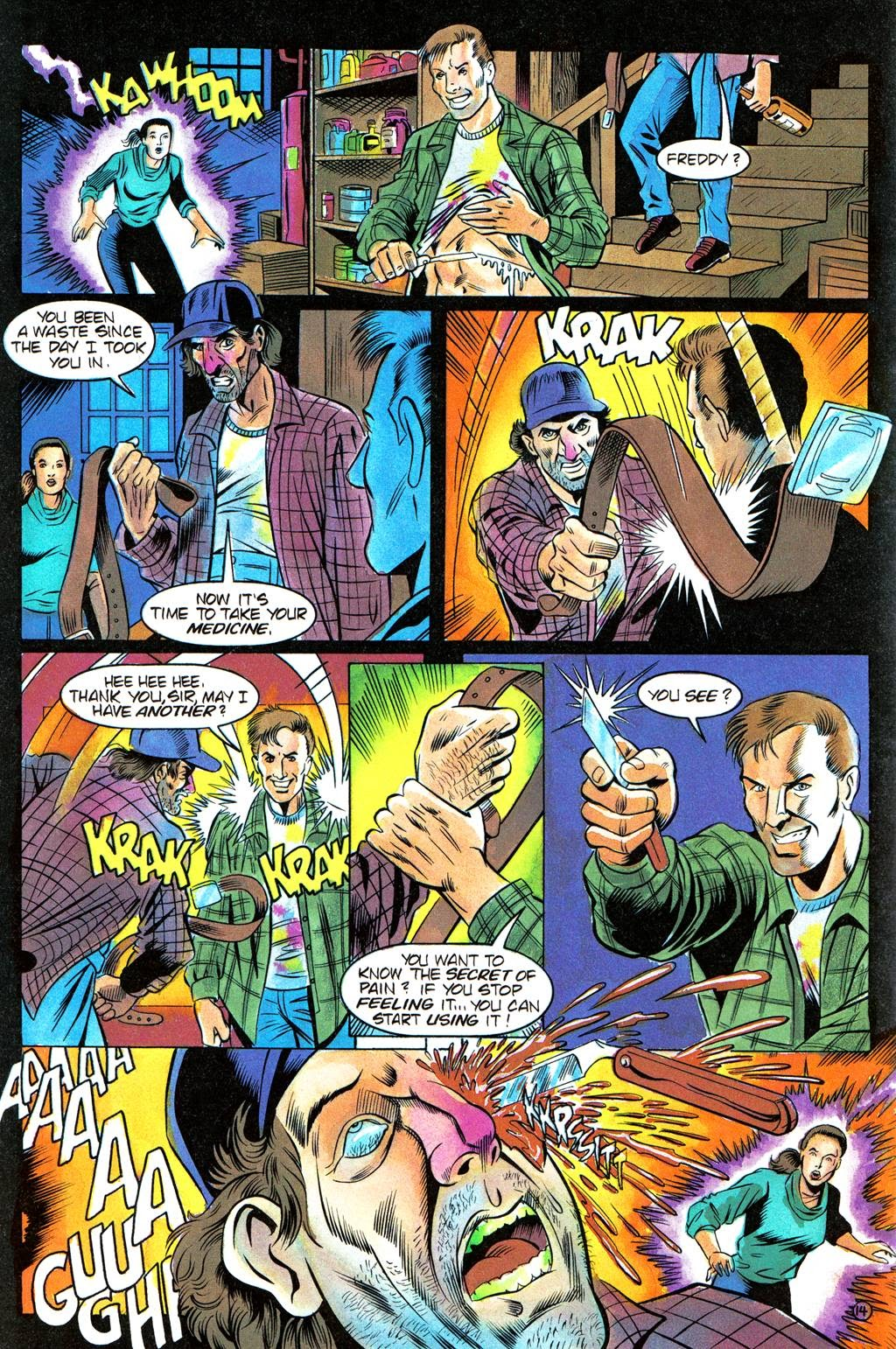 Read online Freddy's Dead: The Final Nightmare comic -  Issue #3 - 17