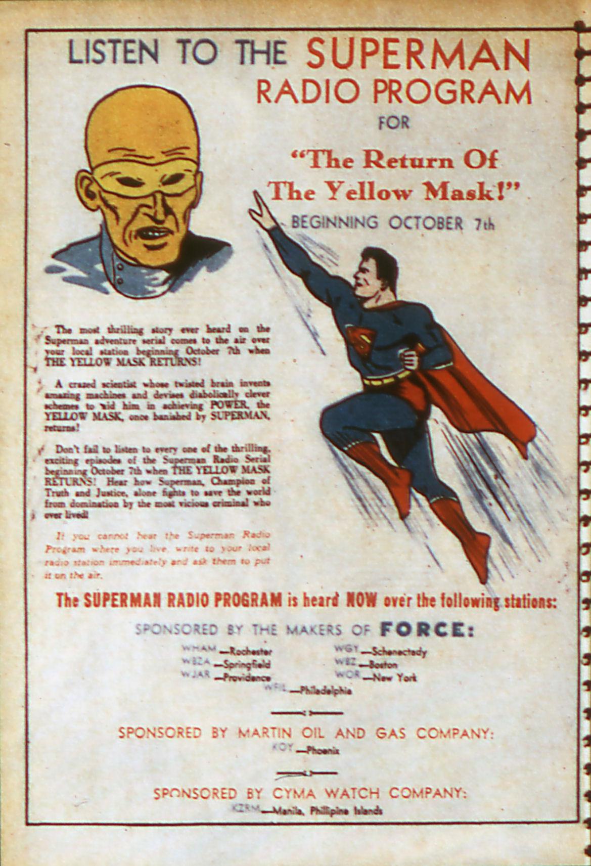 Read online Adventure Comics (1938) comic -  Issue #56 - 19