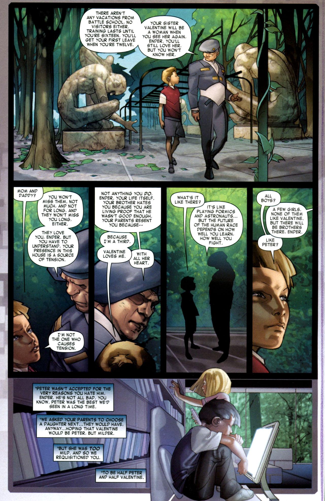 Read online Ender's Game: Battle School comic -  Issue #1 - 23