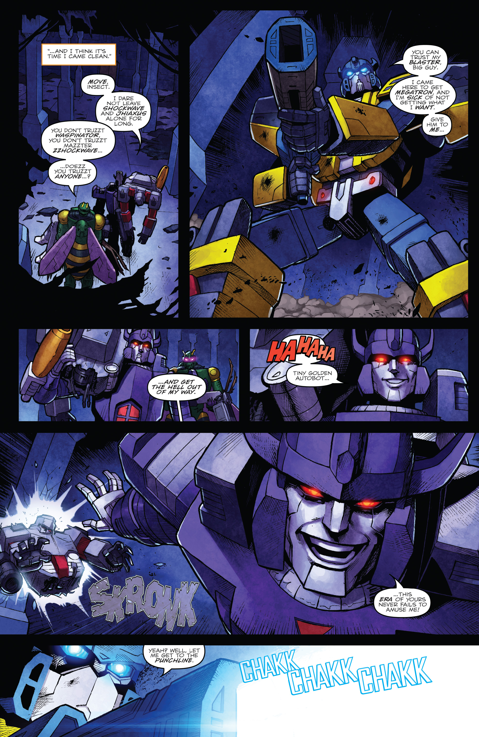Read online The Transformers: Dark Cybertron Finale comic -  Issue # Full - 20